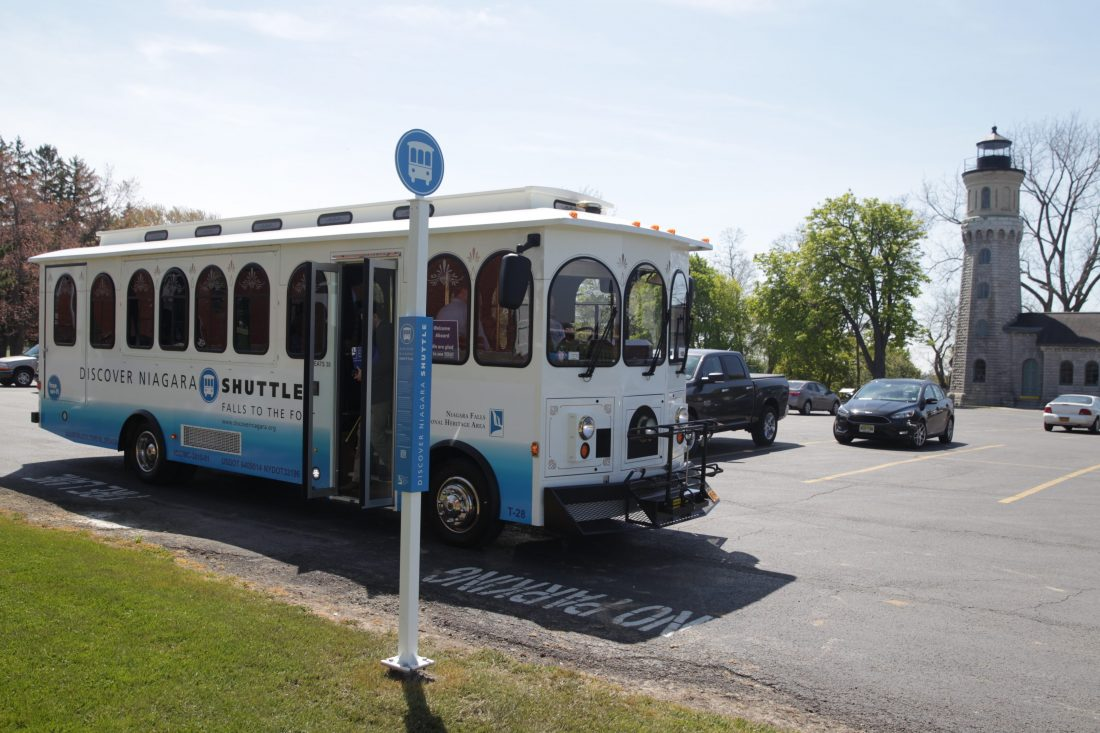 Niagara Falls Mayor Paul Dyster says the shuttle's continued operation is vital to the area's tourist industry.