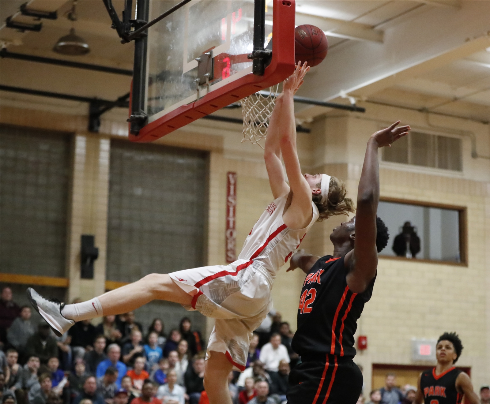 Bo Sireika scored a game-high 20 points to lead St. Francis to the overtime victory over Park on Friday night. (Harry Scull Jr./Buffalo News)