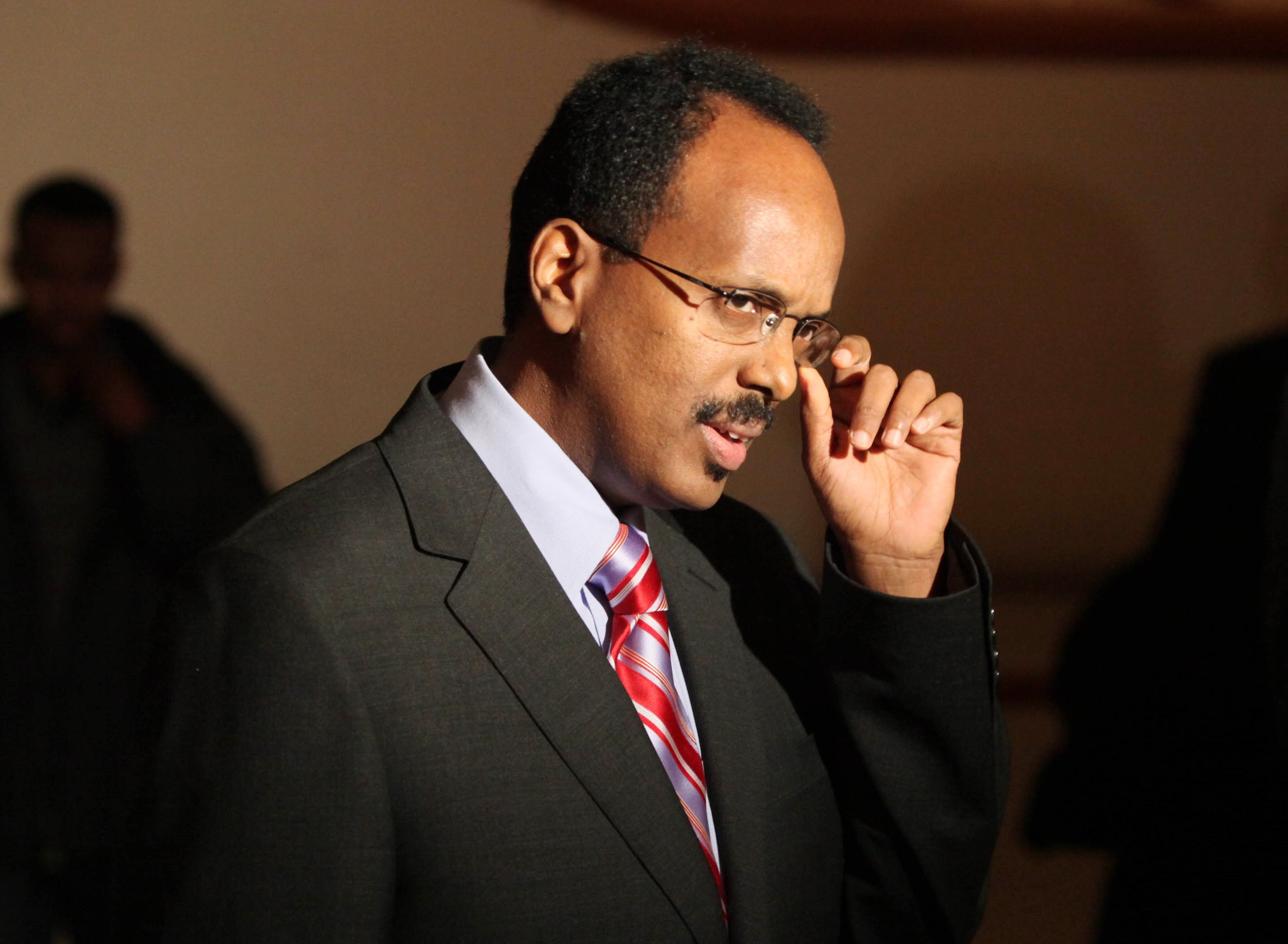 Somalia President-elect Mohamed A. Mohamed, who owns a house on Grand Island, will be inaugurated Wednesday in Somalia. This is a file photo of Mohamed from 2011. (Robert Kirkham/Buffalo News)