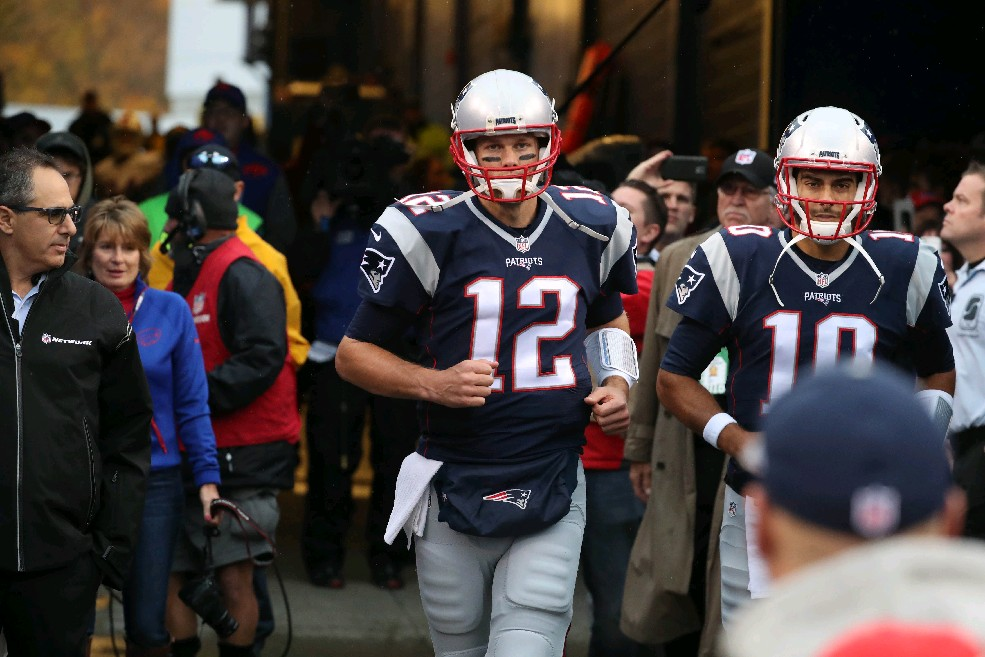 Tom Brady (James P. McCoy/Buffalo News)