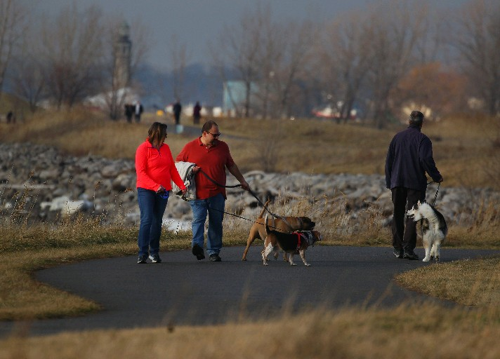 The next two days will average 10 degrees or more above normal with ample sunshine. That should provide some opportunity to get outdoors and enjoy the fresh air.  (Mark Mulville/The Buffalo News file photo)