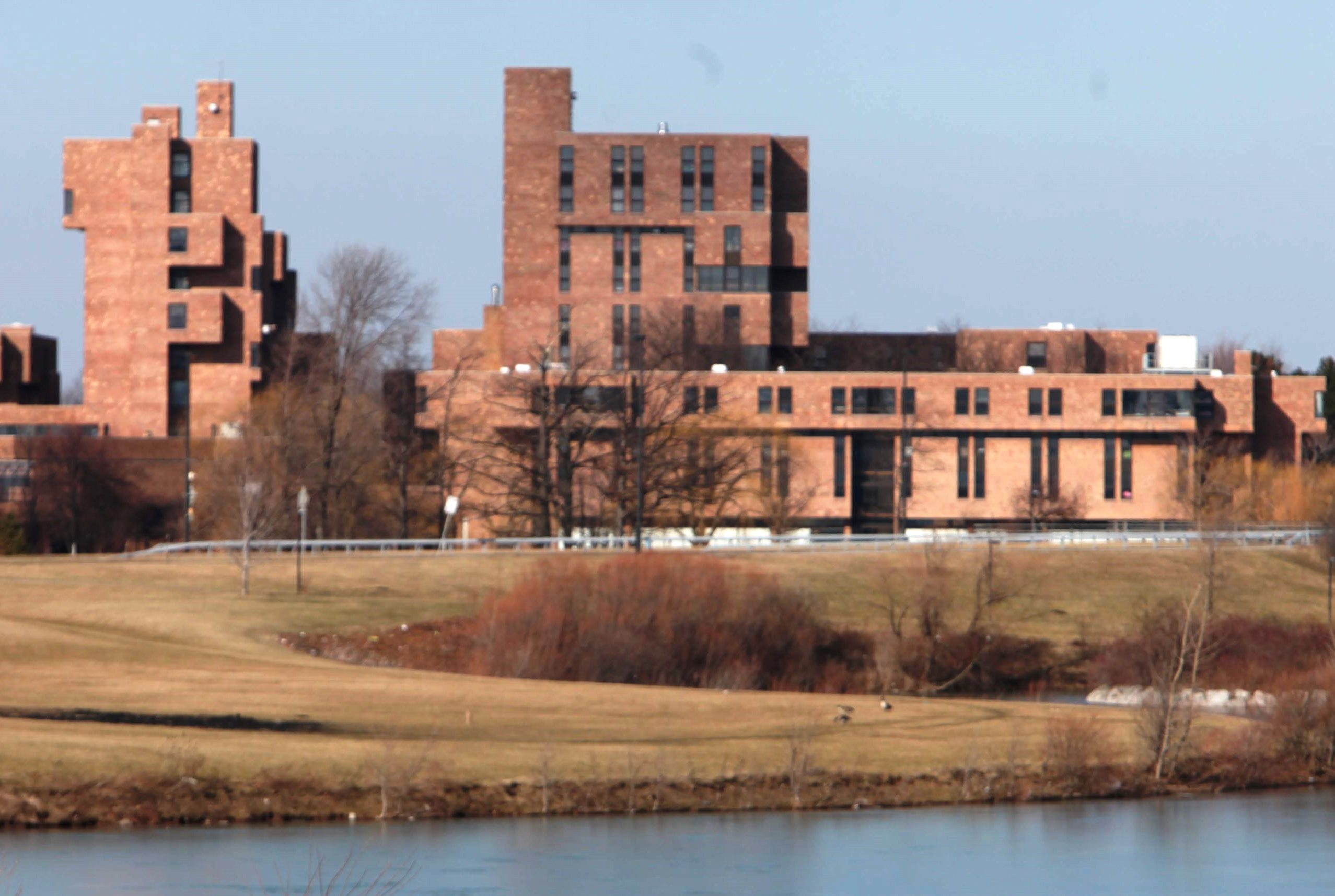 Police say a UB student  lied about being assaulted near the Ellicott Complex on UB's North Campus. (News file photo)