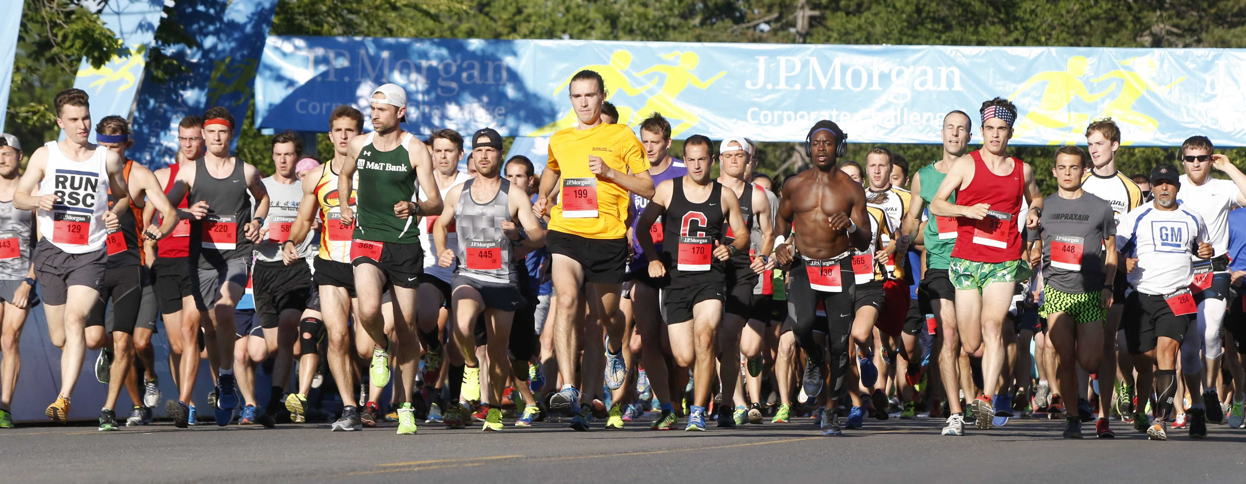 Buffalo is the second-oldest race in the J.P. Morgan Corporate Challenge Series. (Harry Scull Jr./Buffalo News)