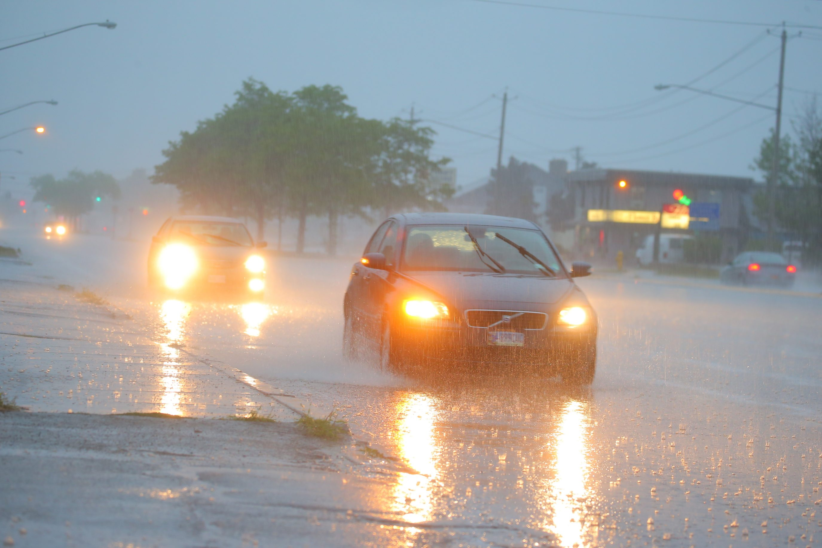 Thunderstorms expected to sweep through the area this morning. (John Hickey/Buffalo News file photo)