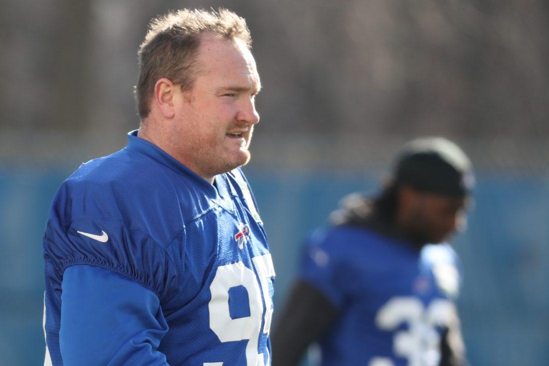Kyle Williams liked the message he heard from new Bills coach Sean McDermott. (James P. McCoy/Buffalo News)