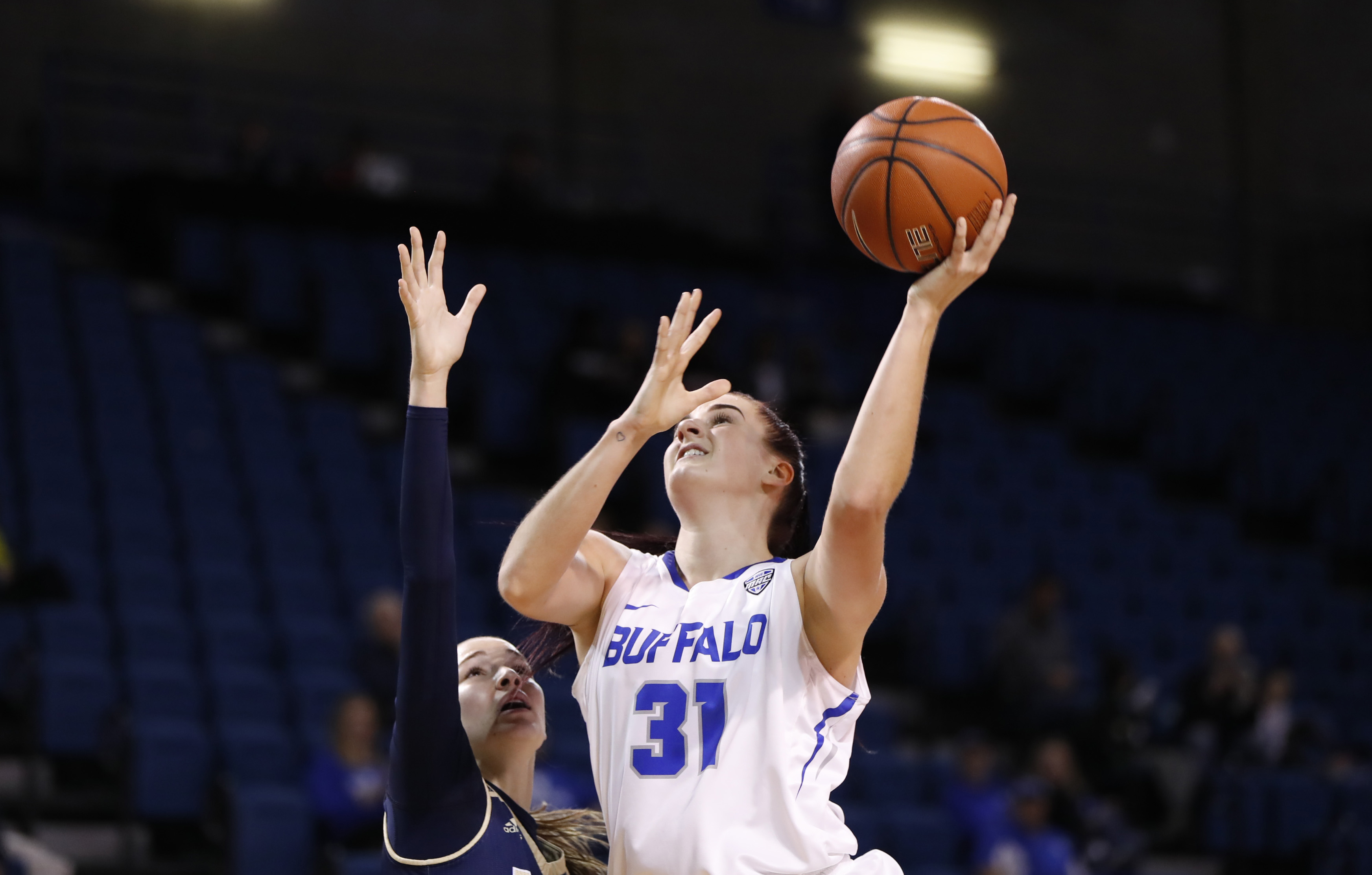 Cassie Oursler had a career-high 21 points in Saturday's loss to Kent State (Harry Scull Jr./Buffalo News file photo)