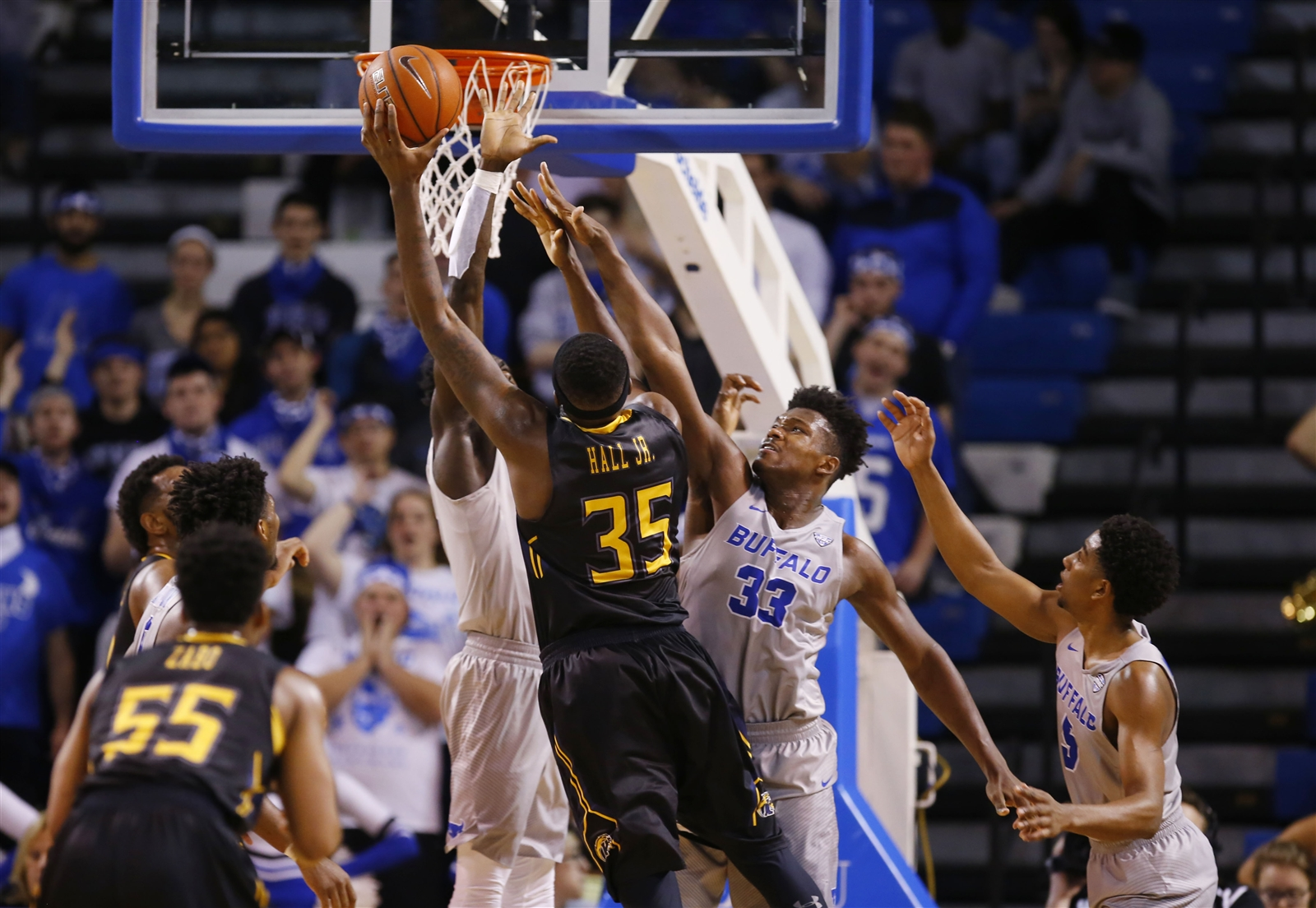 Kent State's Jimmy Hall poses a big problem for UB. (Harry Scull Jr./Buffalo News)