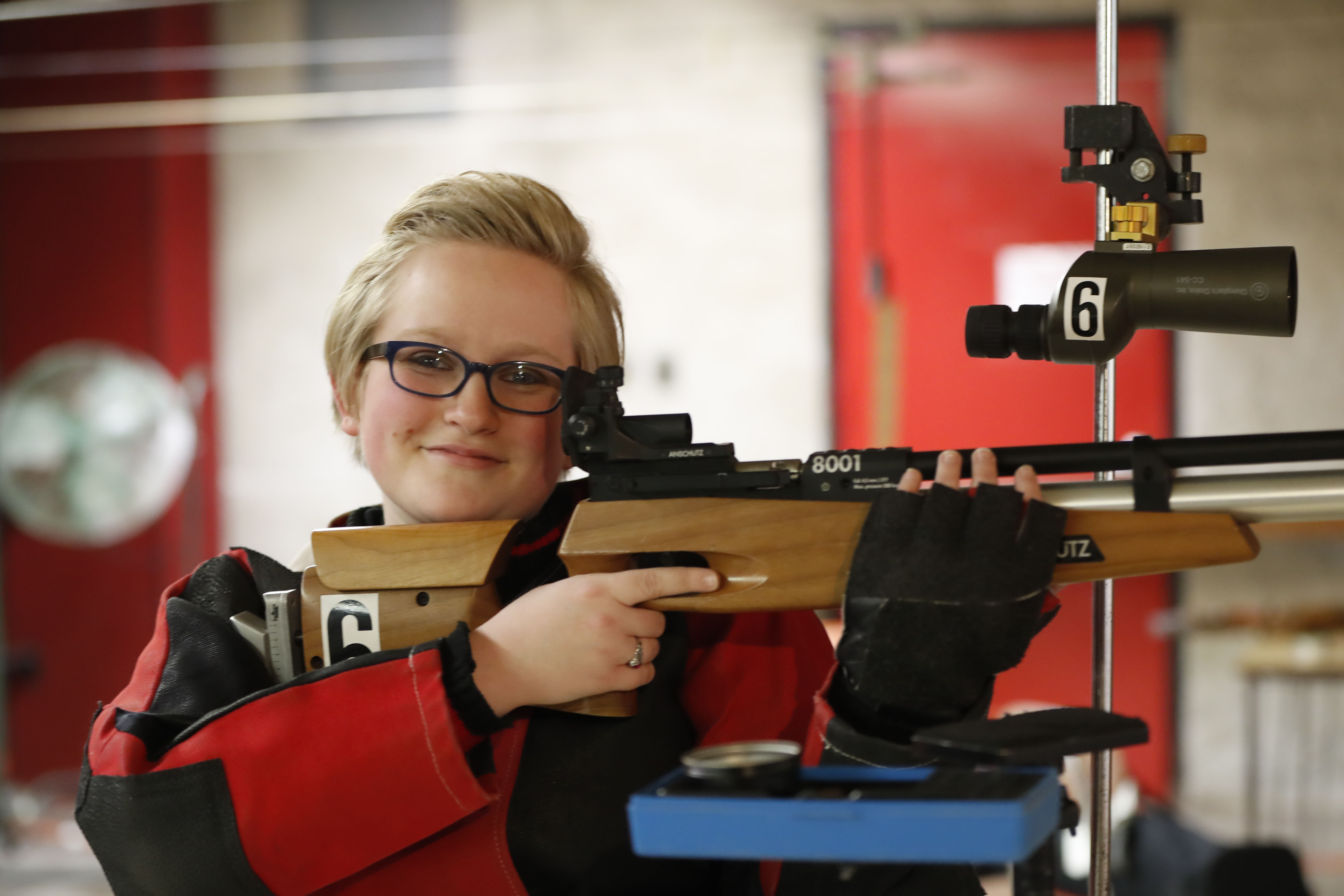 Kiersten E. Mucha was named Female Youth of the Year by the Erie County Federation of Sportsmen's Clubs. (Harry Scull Jr./Buffalo News)