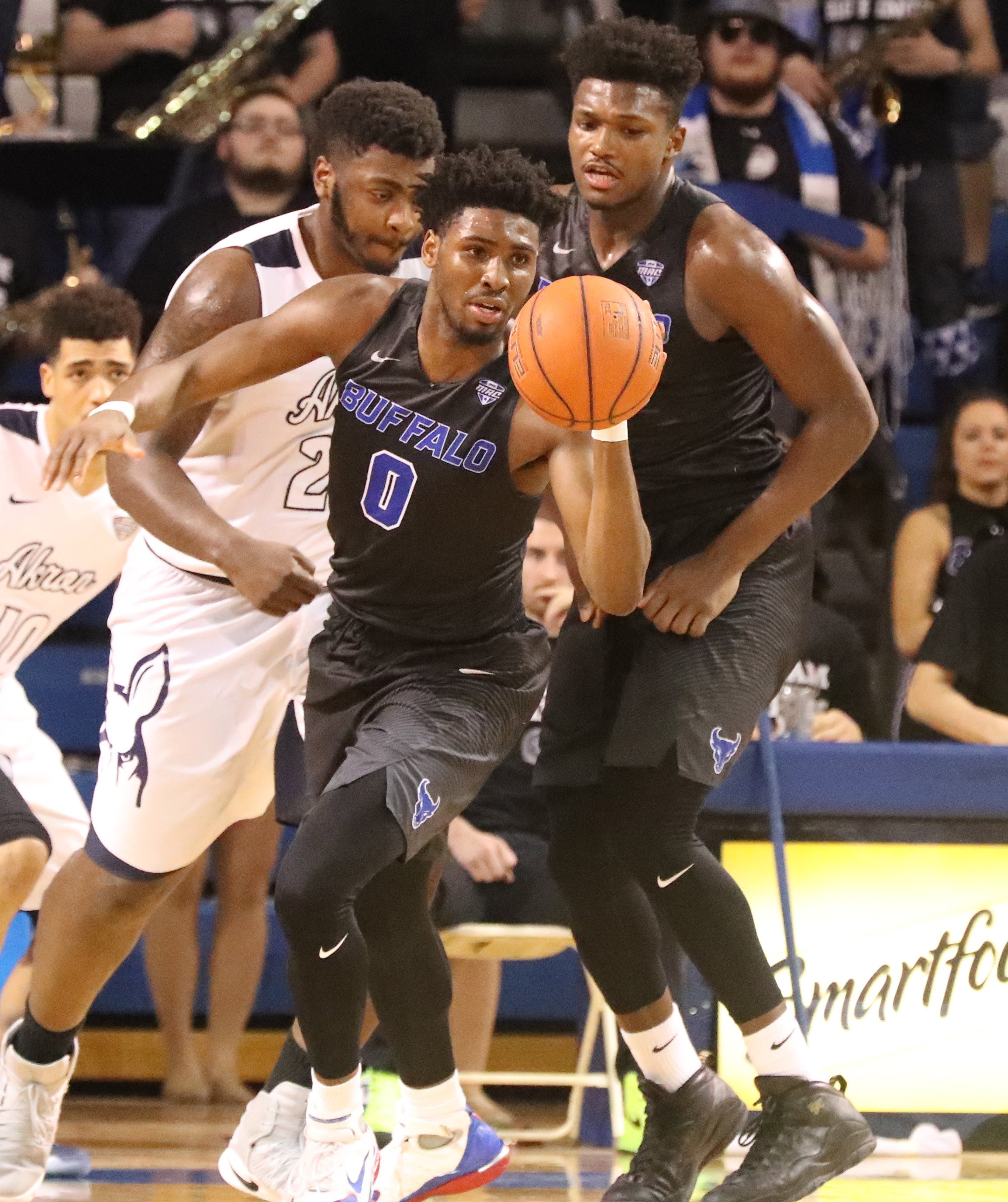 Blake Hamilton and the UB Bulls will be the third seed in the MAC Tournament.  (James P. McCoy/Buffalo News)