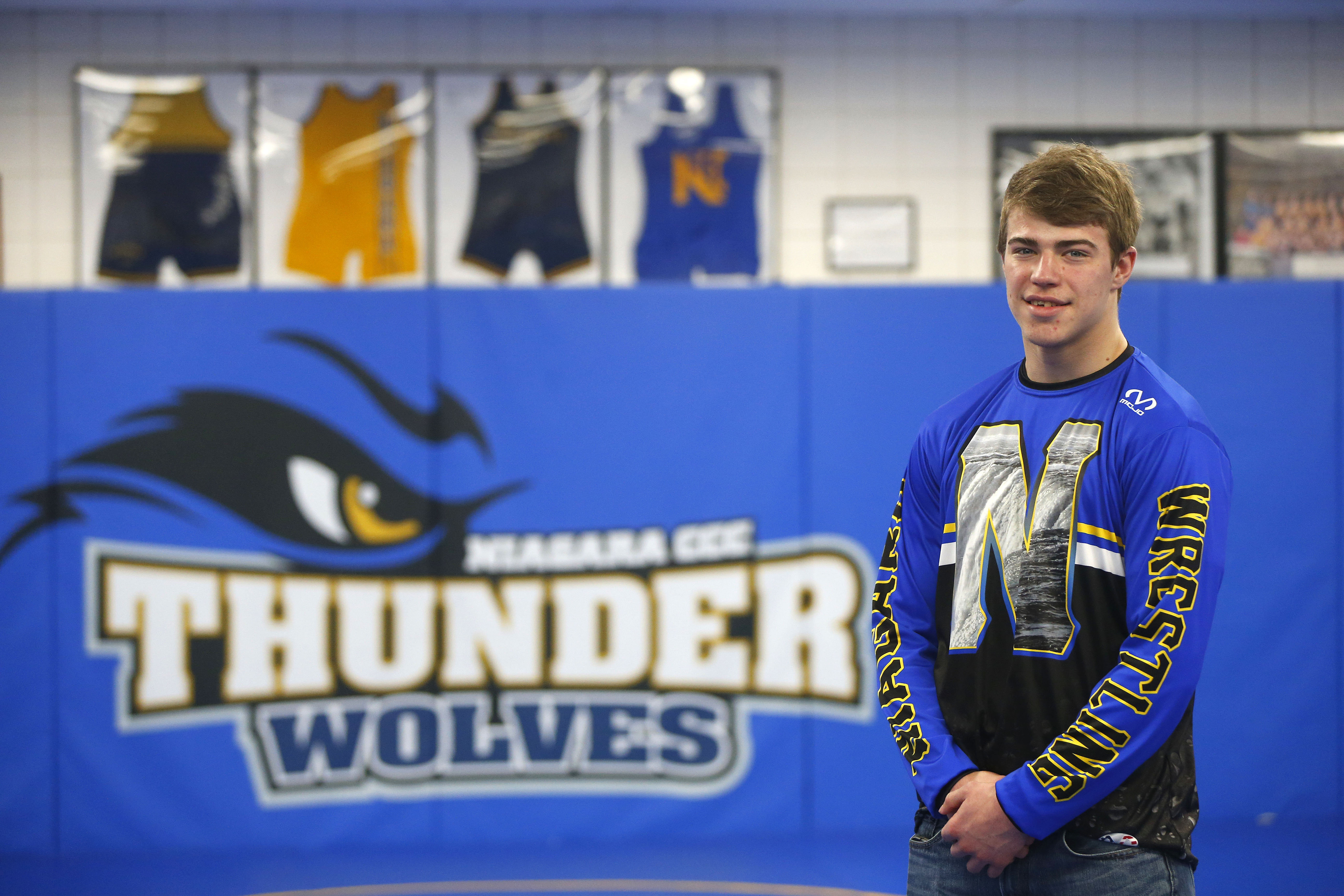 NCCC wrestler Troy Keller took fifth place at the NJCAA National Championships on Feb. 24-25. He became the 46th wrestler at the school to earn All-American honors (Mark Mulville/Buffalo News)