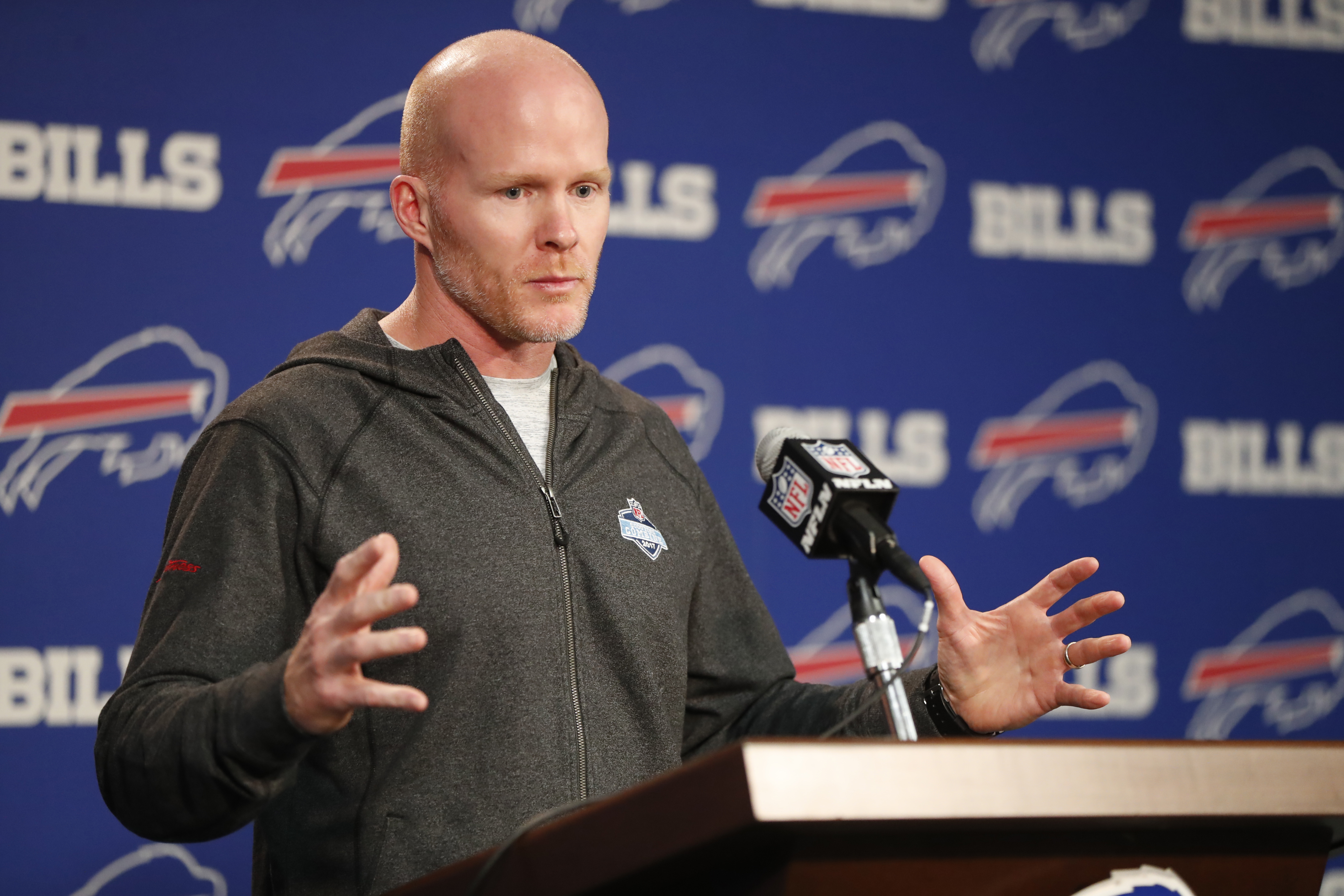Buffalo Bills head coach Sean McDermott (Harry Scull Jr./Buffalo News)