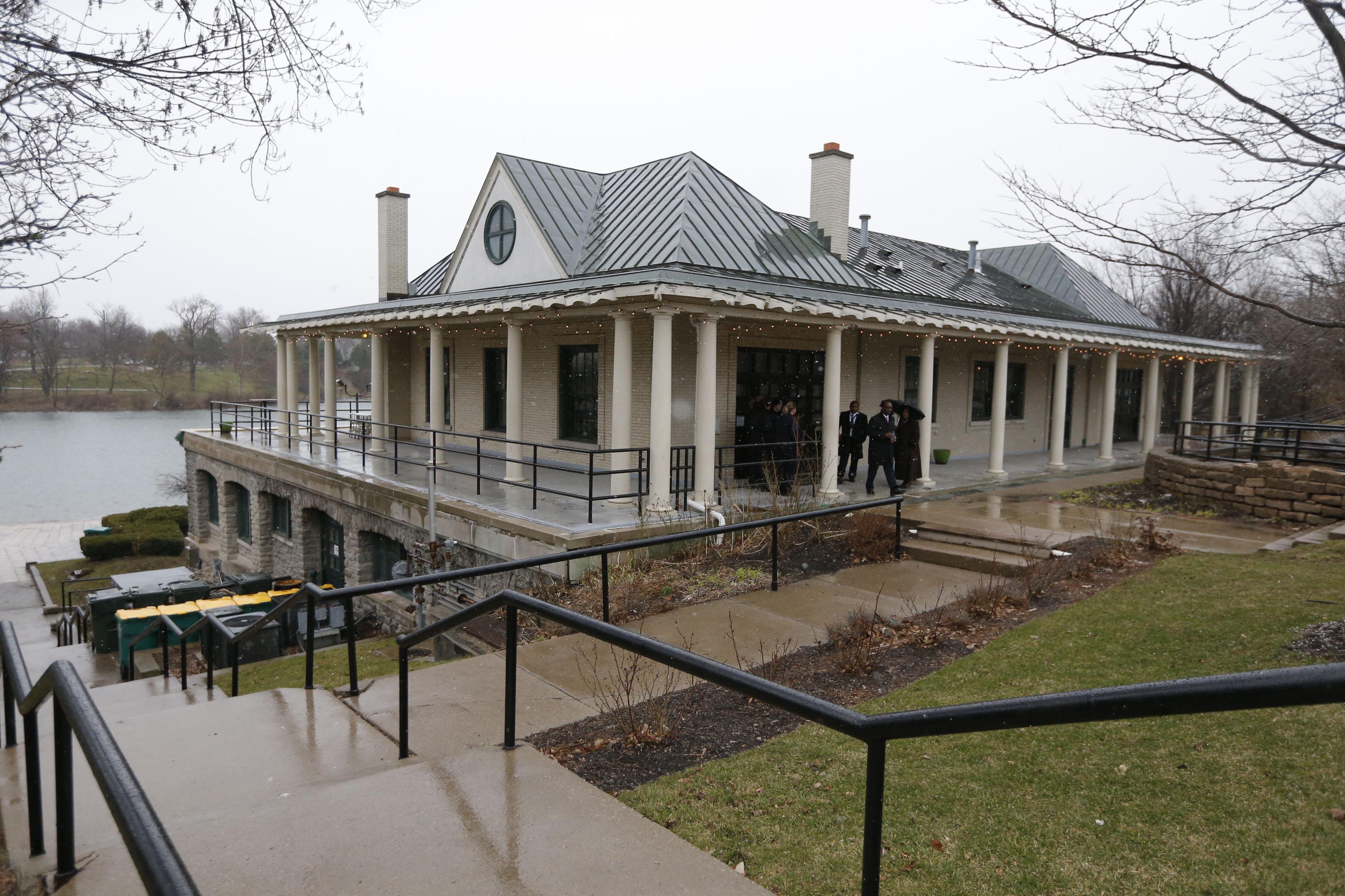 The Terrace @ Delaware Park restaurant opened Thursday in the Marcy Casino at Delaware Park. (Robert Kirkham/Buffalo News)