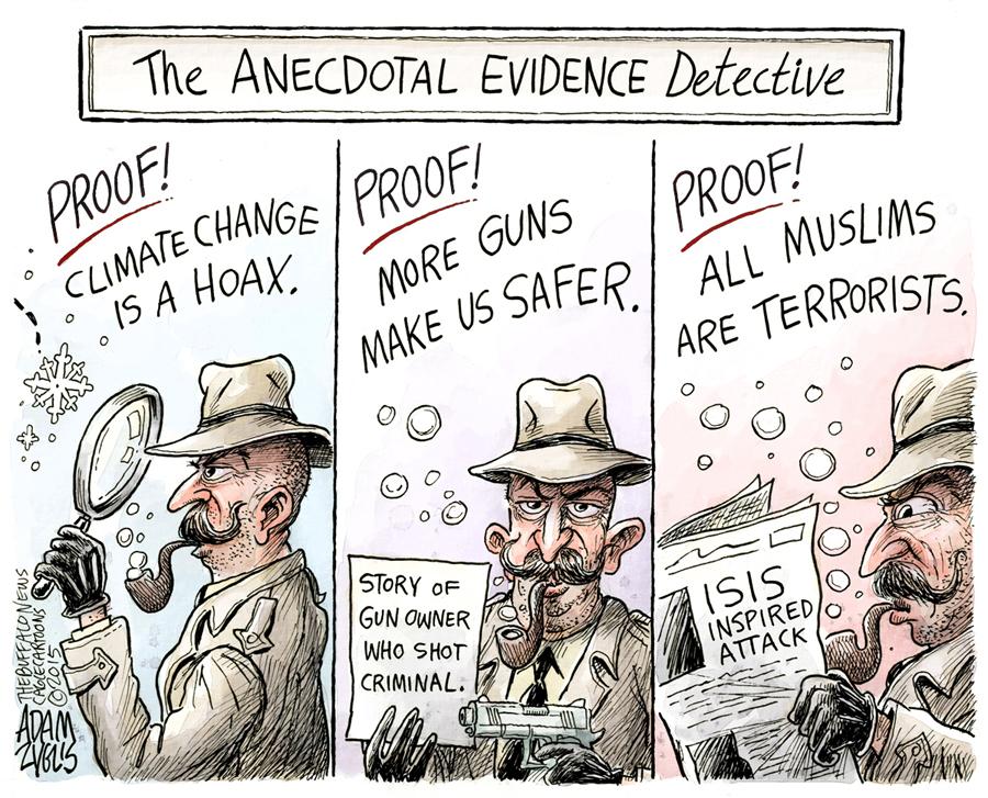 Anecdotal detective