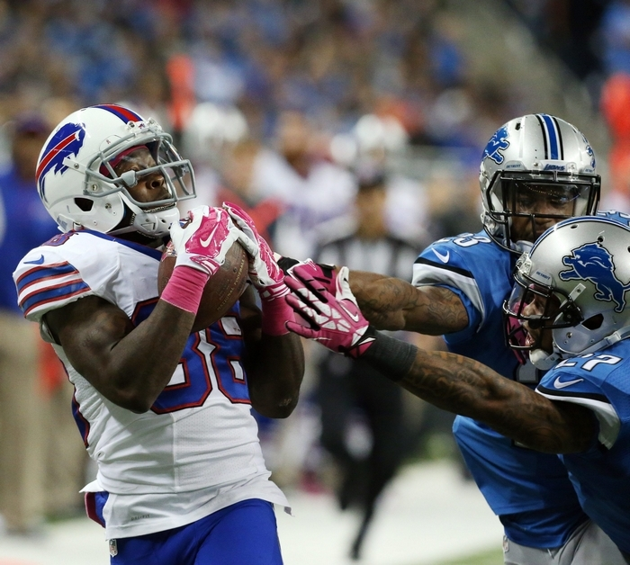 Marquise Goodwin has game-changing speed, and is coming off a career year for the Buffalo Bills in 2016. (Buffalo News file photo)