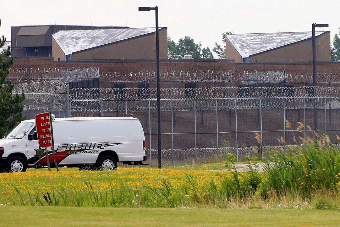 The state Commission of Corrections is investigating the the beating of an inmate by another inmate at the Erie County Correctional Facility in Alden. (News file photo)