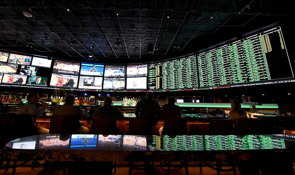 The Sports SuperBook at the Westgate Las Vegas Resort & Casino. (Getty Images)