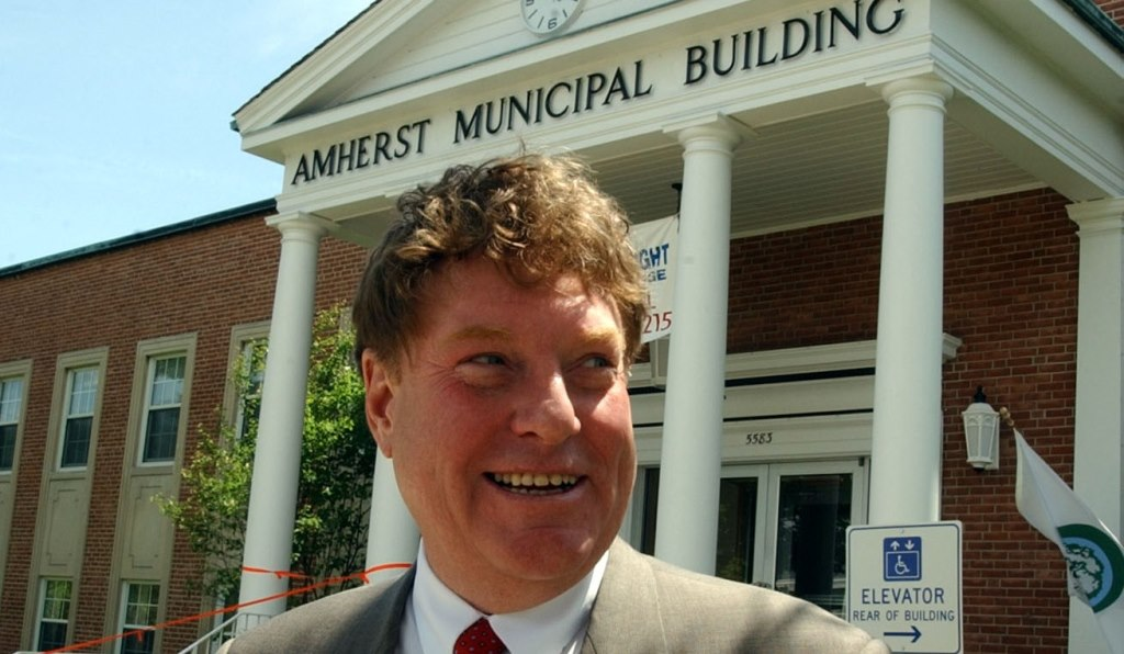 Attorney Dan Ward was Amherst supervisor when town ethics law was approved.. (News file photo)