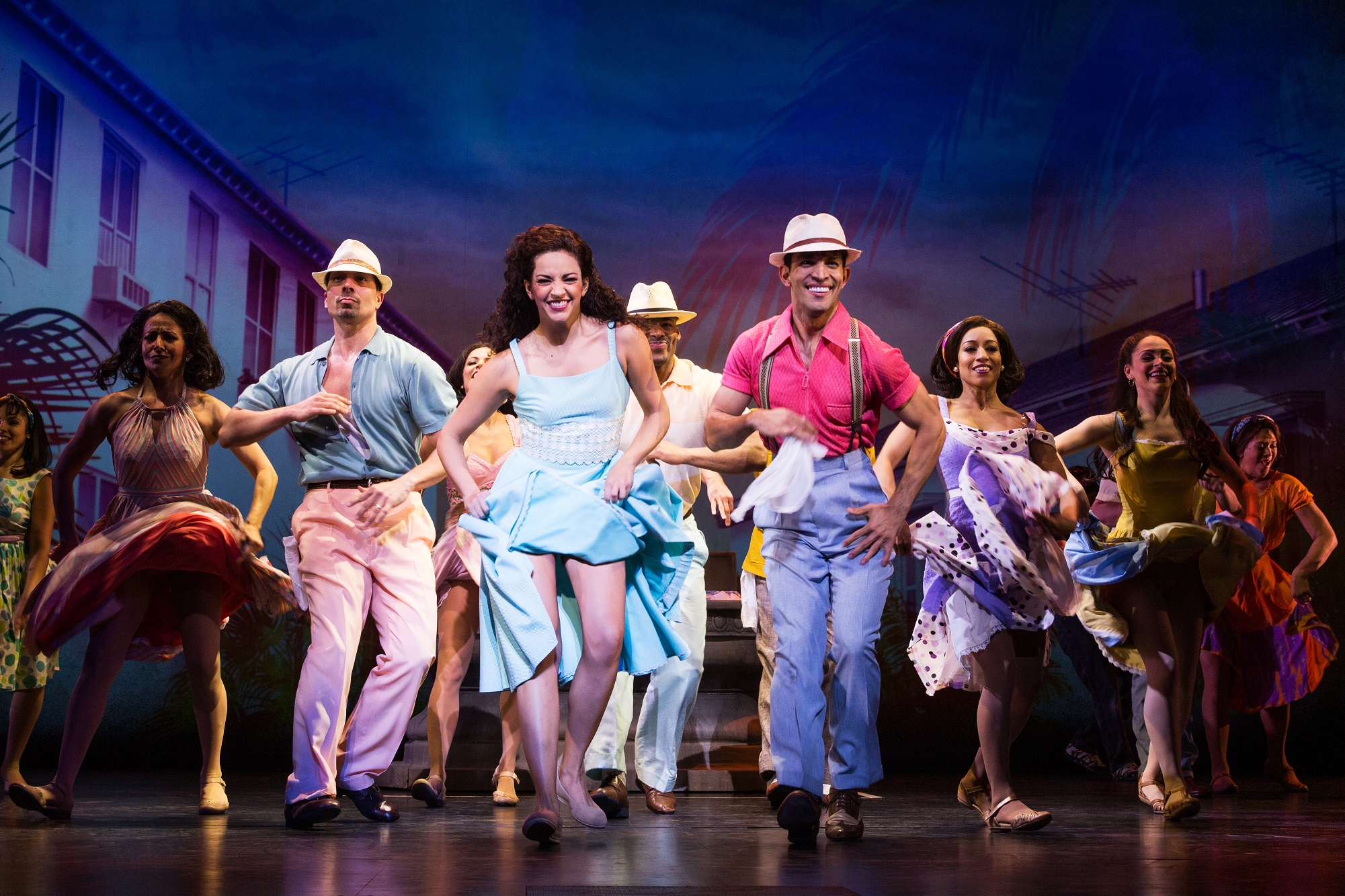 'On Your Feet,' shown here in its Broadway production, will launch its national tour in Shea's Performing Arts Center on Sept. 23.