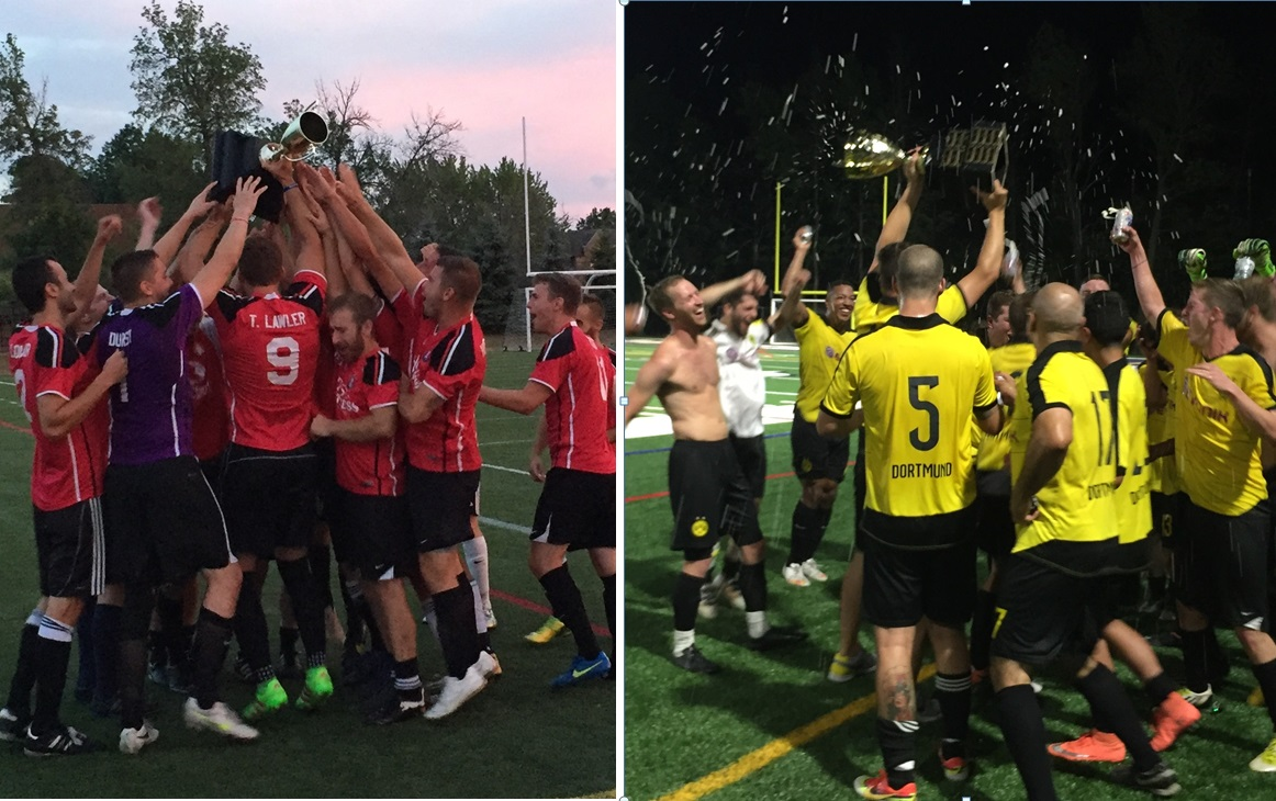 Amherst Sharpshooters, left, and Clarence Yotes will represent the BDSL in national tournaments.