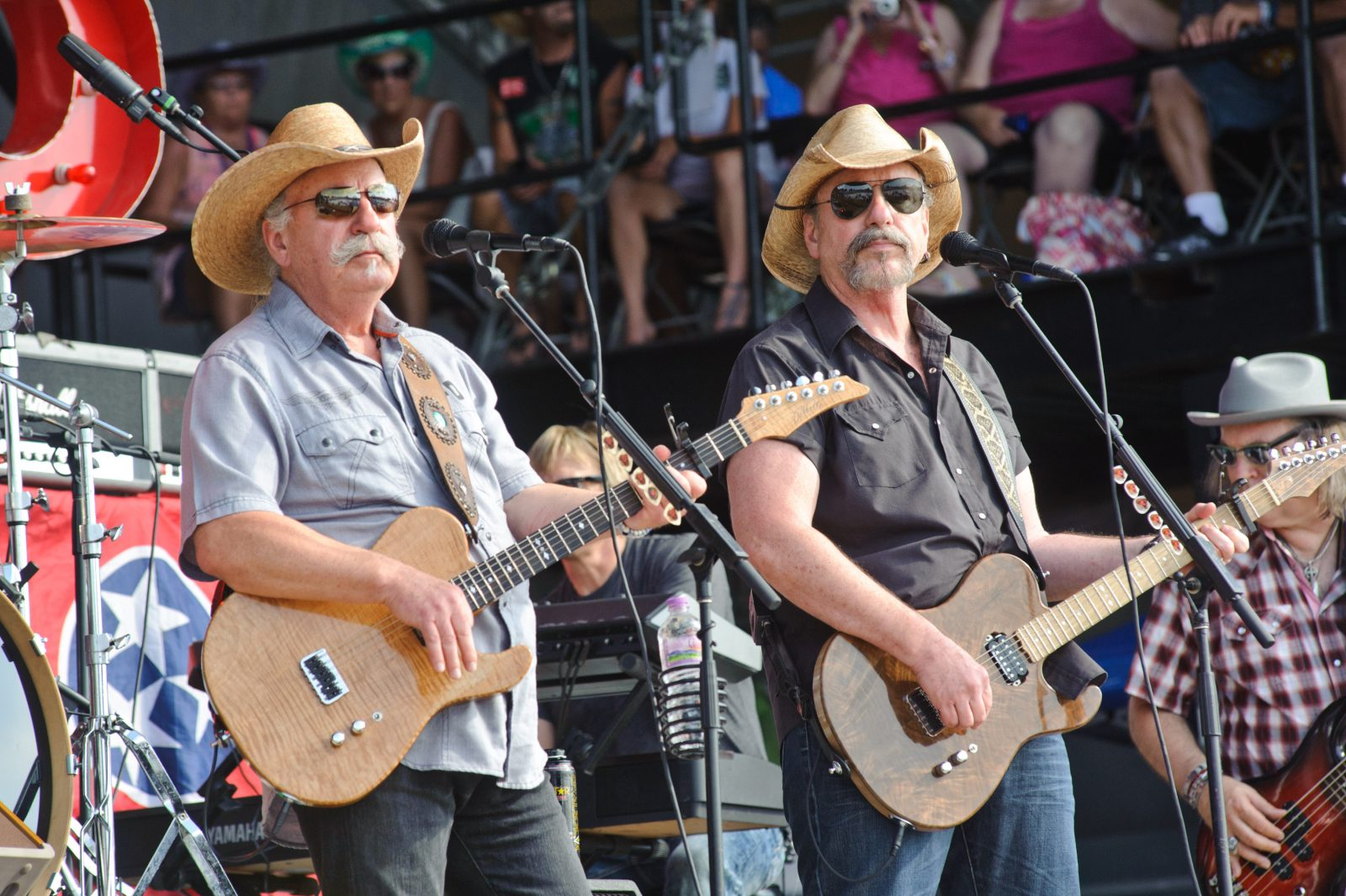 The Bellamy Brothers will perform at the Erie County Fair. (Getty Images)