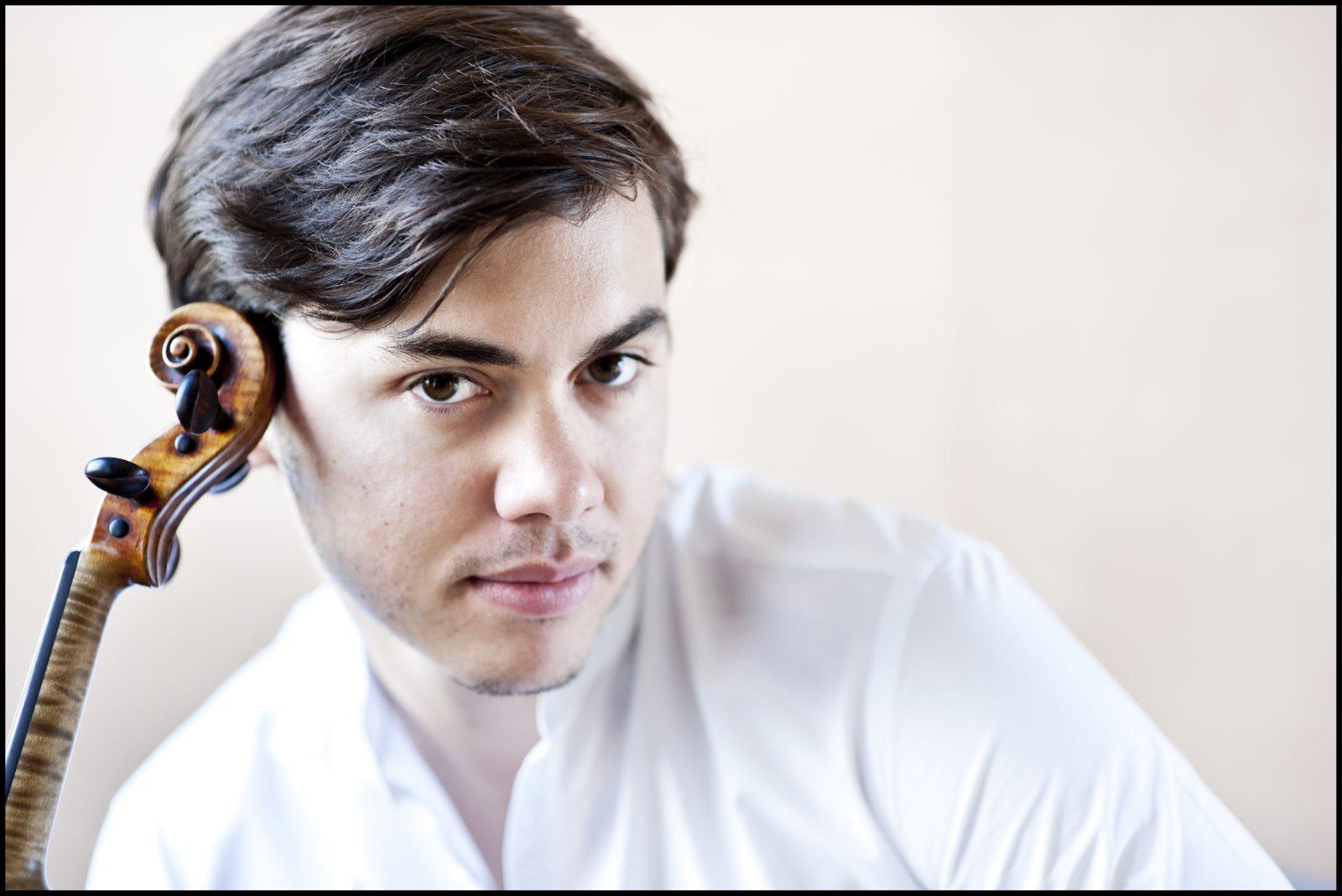 Benjamin Beilman is ready to shine again at Kleinhans Music Hall. (Photo by Giorgia-Bertazzi)