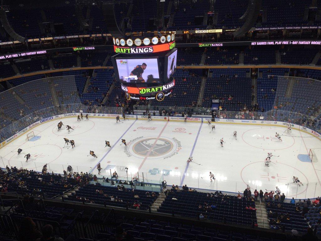 The Buffalo Sabres face the Florida Panthers. (Mike Harrington/Buffalo News)