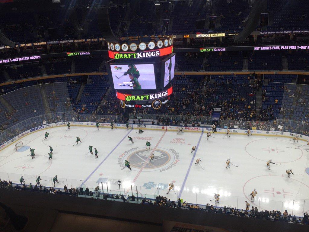 The Buffalo Sabres host the Pittsburgh Penguins tonight. (Mike Harrington/Buffalo News)