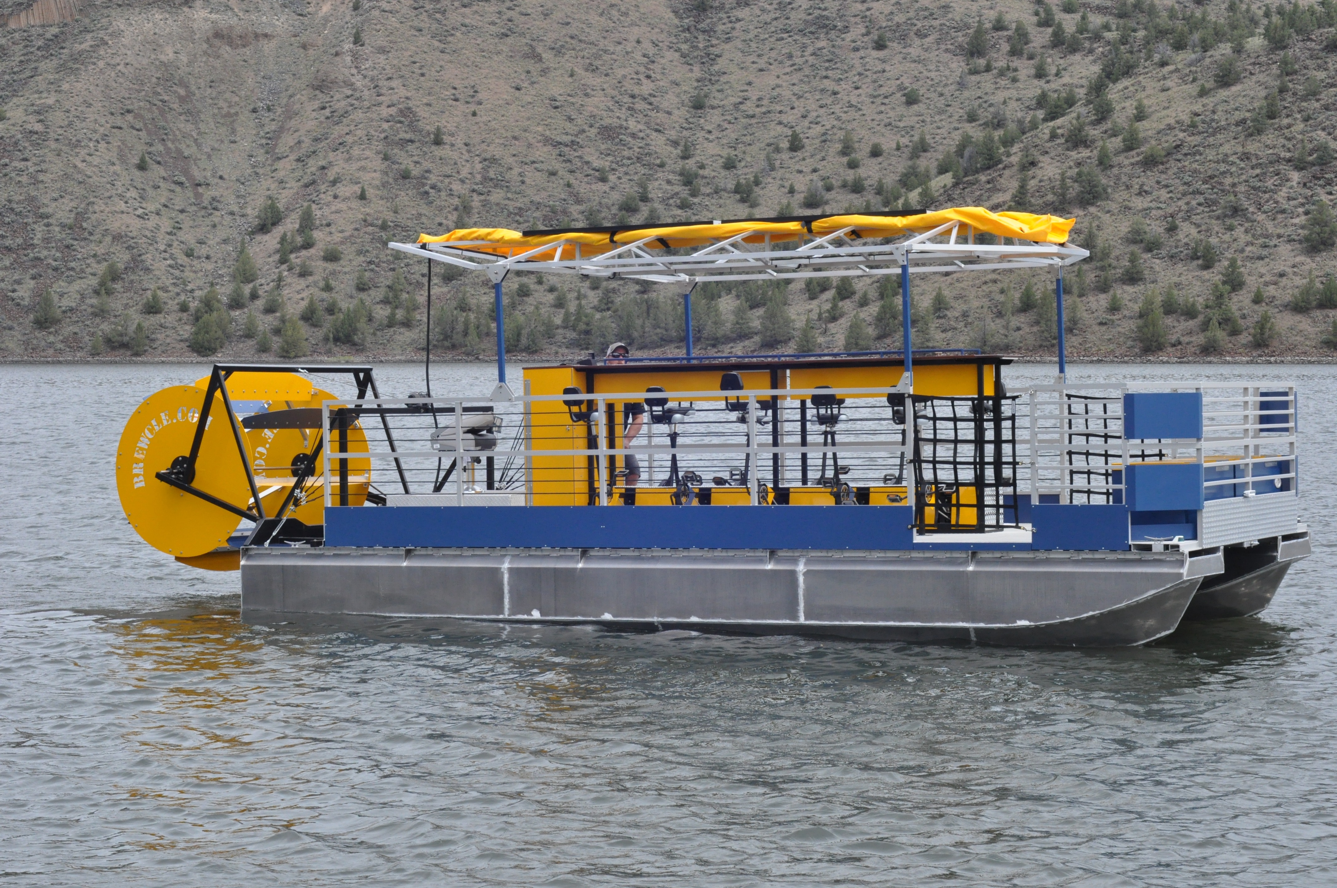 A Cascade Cycleboat floating near Bend, Oregon. (Contributed photo)