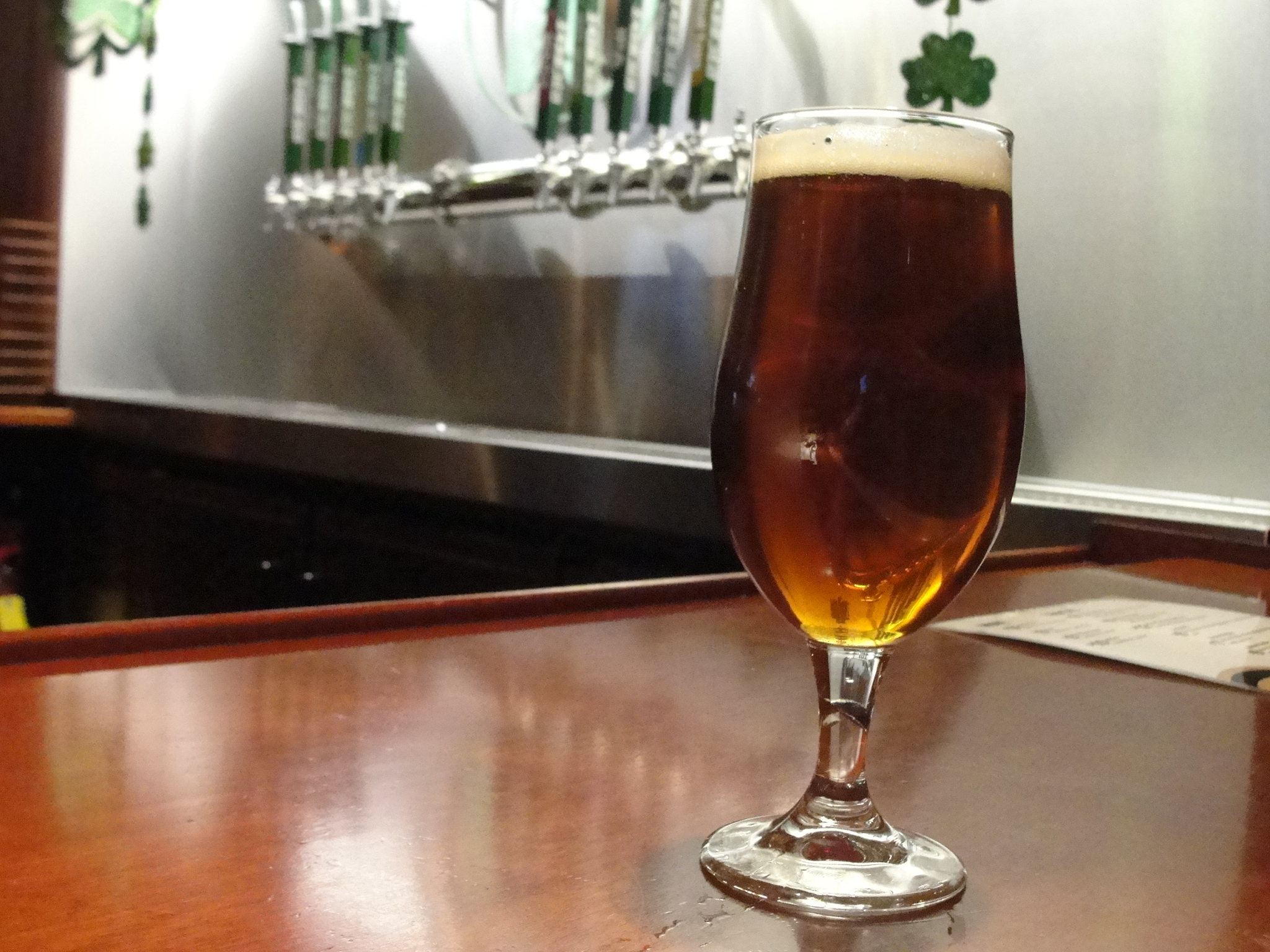 The Irish red from Hamburg Brewing Co. (Special to The News)