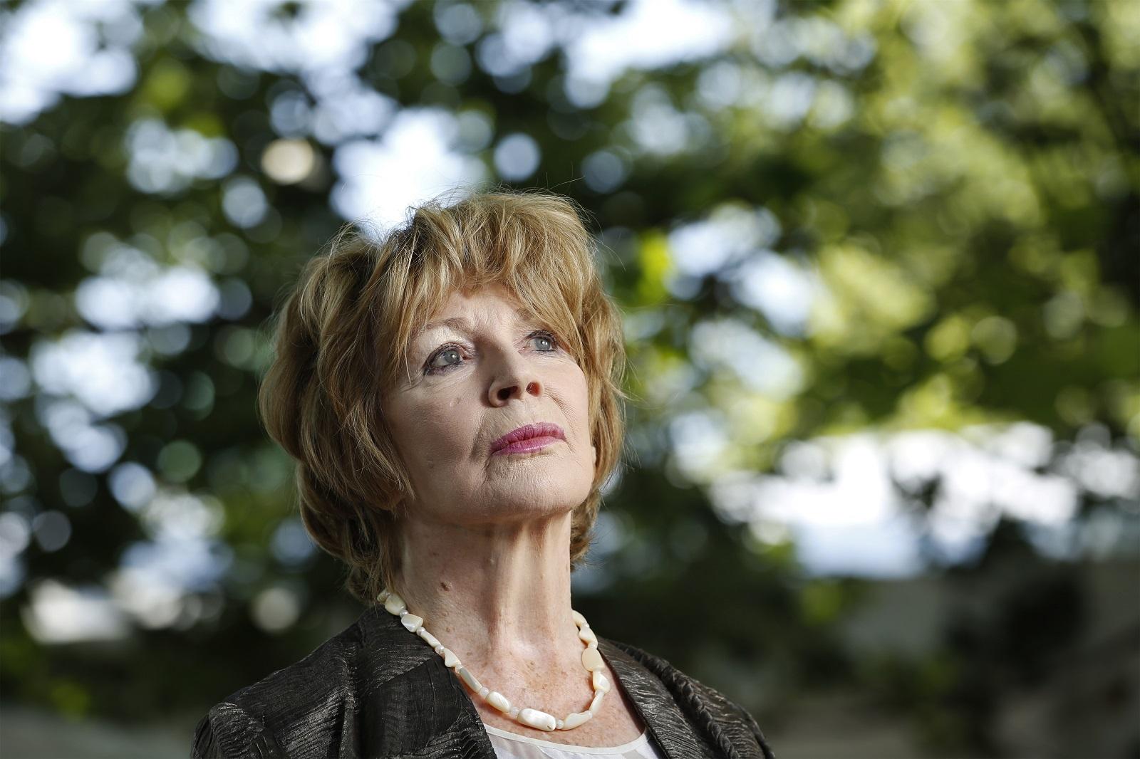 Edna O'Brien (Photo by Murdo MacLeod)