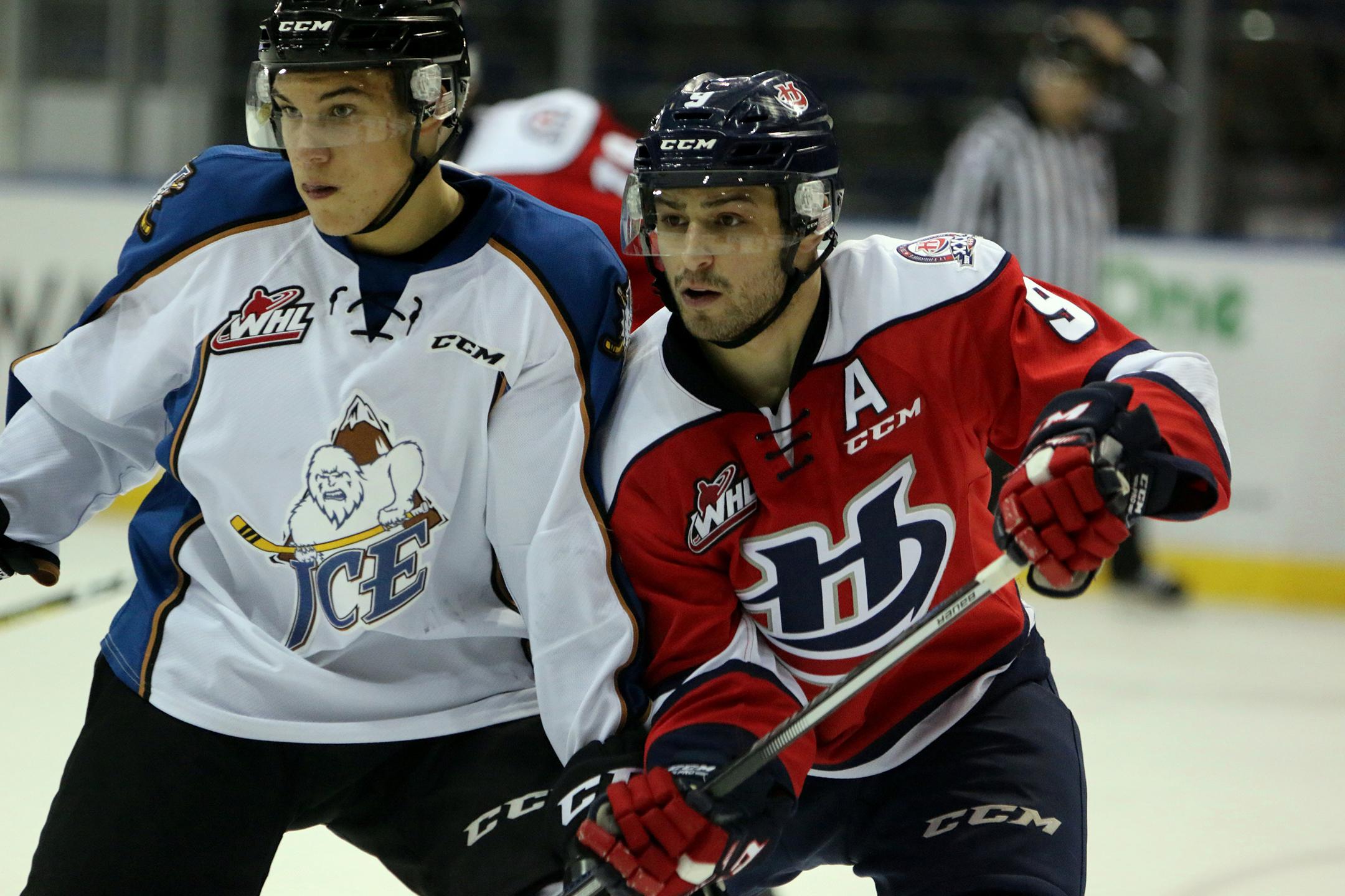 Giorgio Estephan begins the WHL playoffs with Lethbridge this week. (Cindy Adachi)