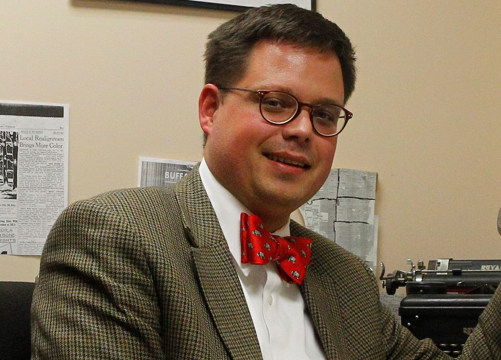 Steve Cichon, a former reporter and news director for WBEN Radio. (News file photo)