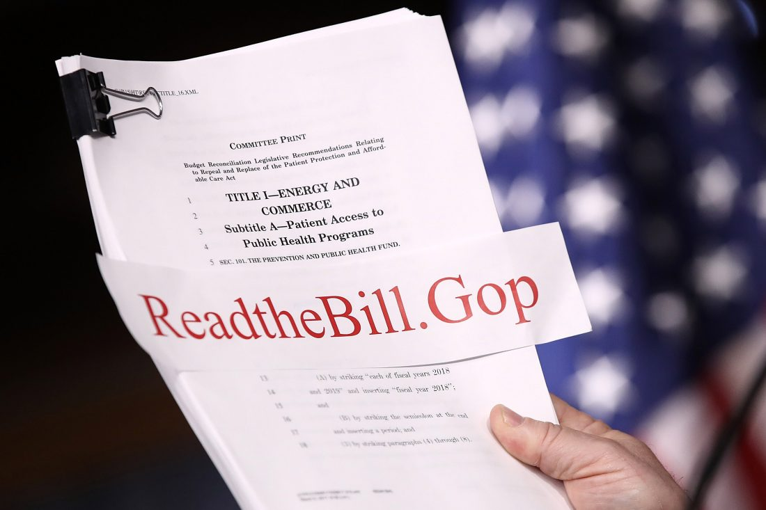 GOP health care fails: Collins 'extremely disappointed,' Reed looks to future
