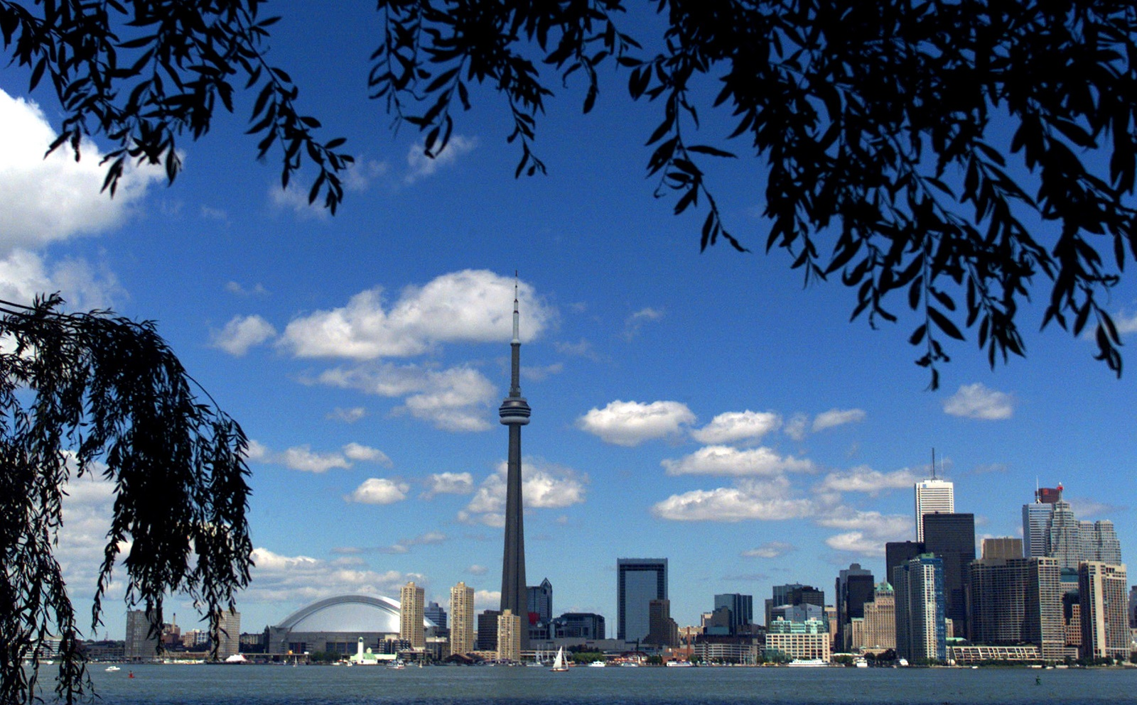 Going to the top of the CN Tower is just one of many things to do in Toronto. (Getty Images)