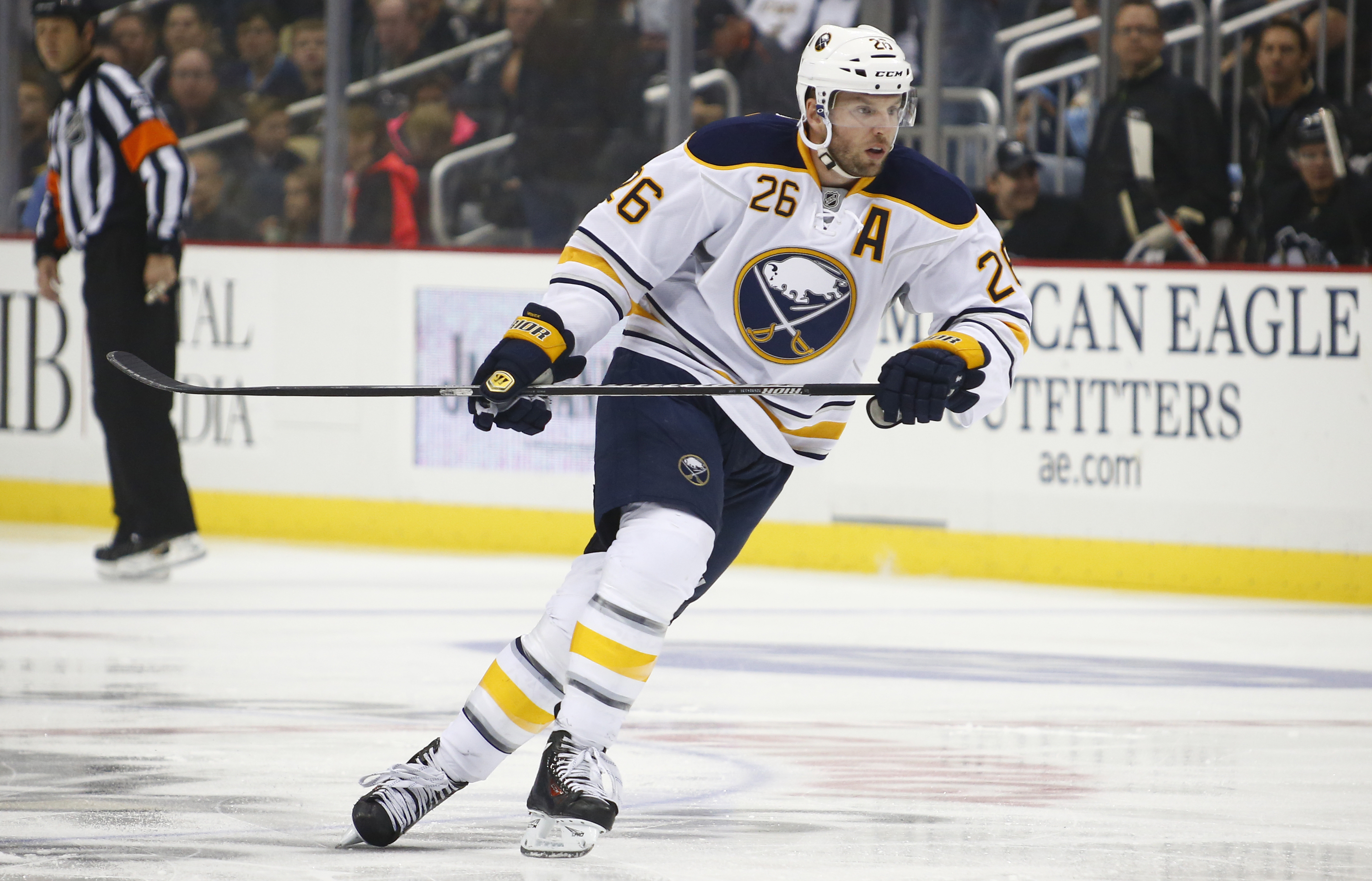Thomas Vanek's first trade was from Buffalo to the New York Islanders. (Getty Images)