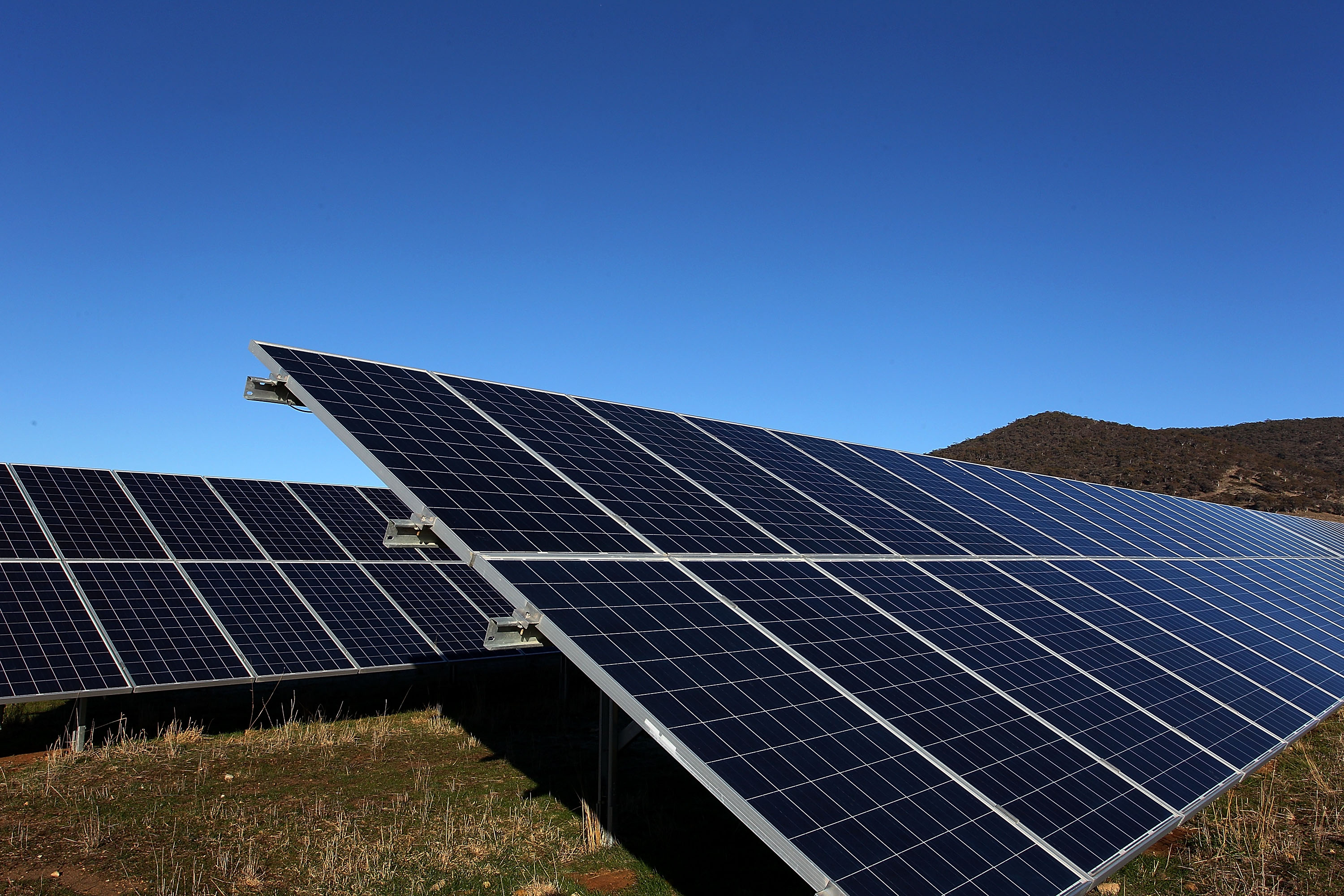 The Town of Lancaster is proposing a six-month moratorium on solar farms. (Getty Images)