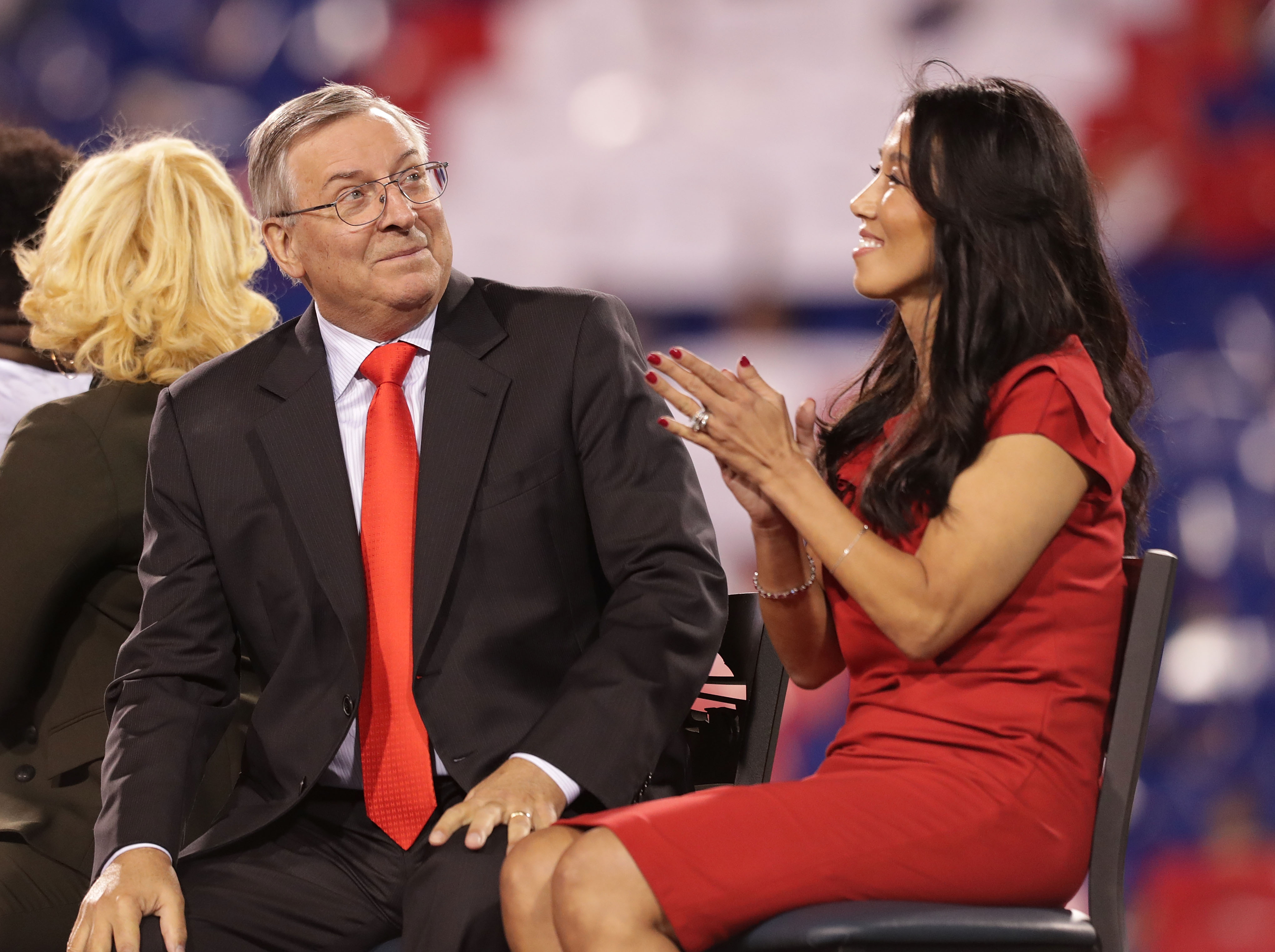 Terry and Kim Pegula should take their in hiring the Bills' next general manager.  (Getty Images)
