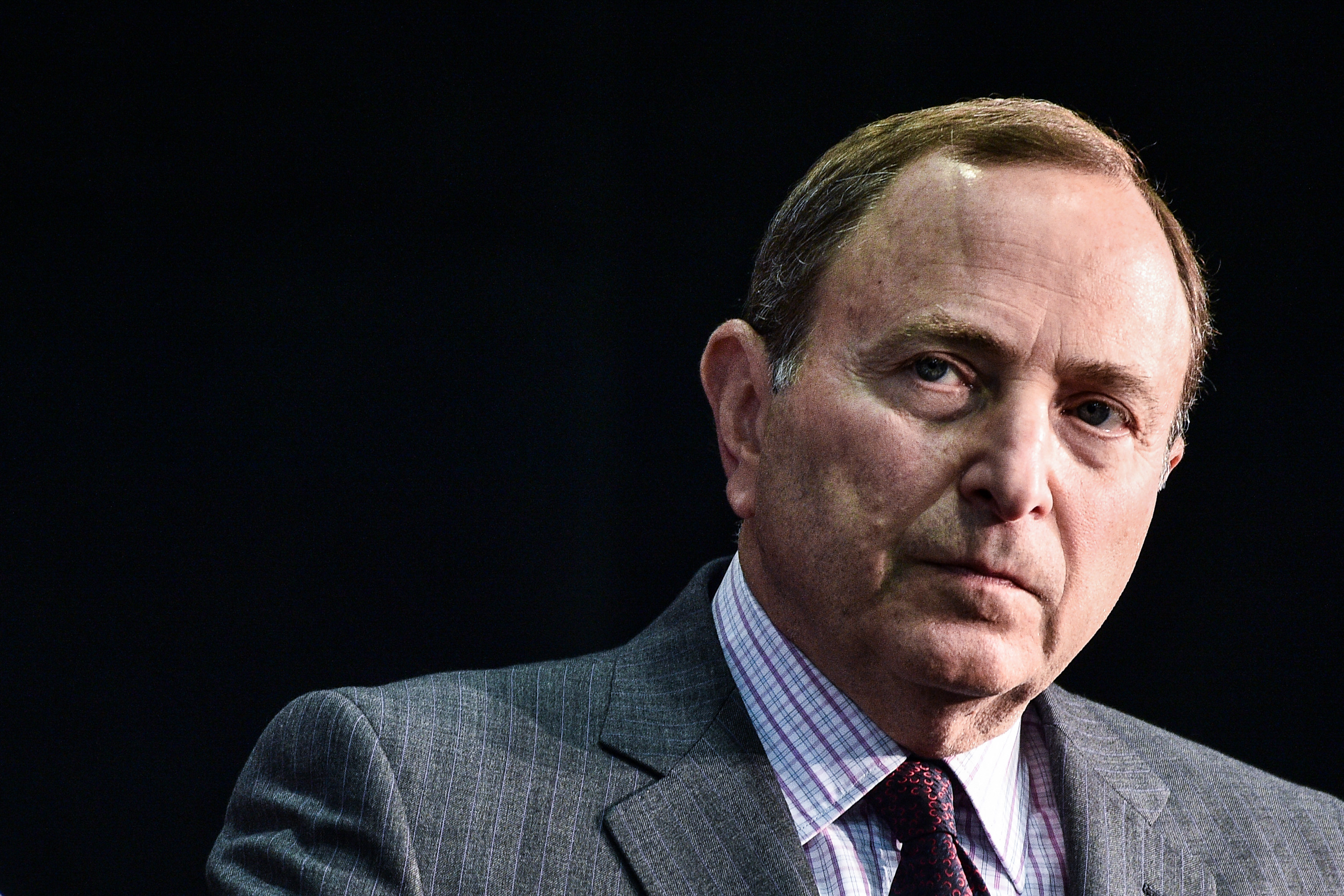 NHL Commissioner Gary Bettman and his legal team have 'contested every single issue' in a concussion lawsuit, an attorney for retired players says. (Getty Images)