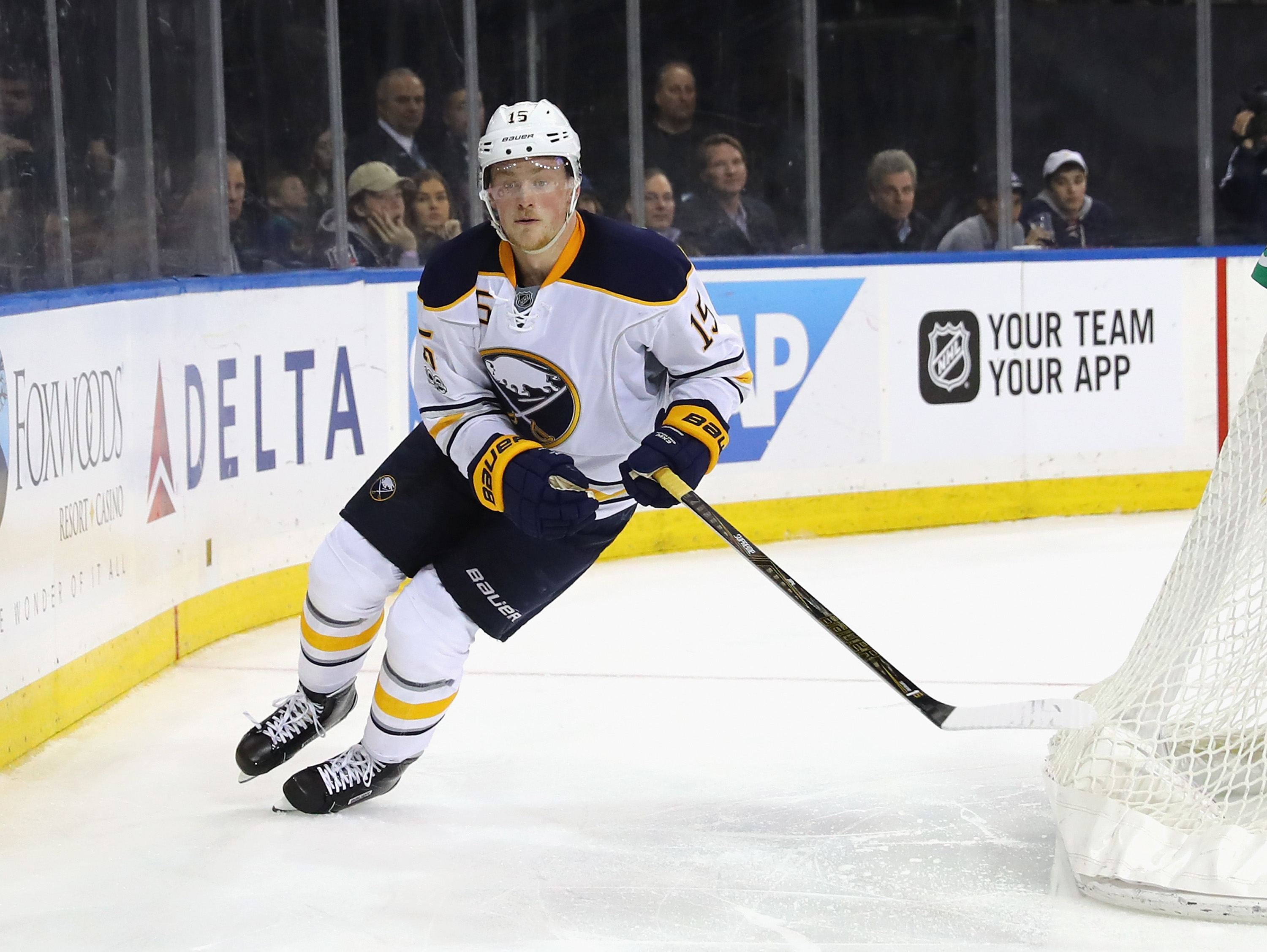 Jack Eichel believes he is just scratching the surface of what he can do. (Getty Images)