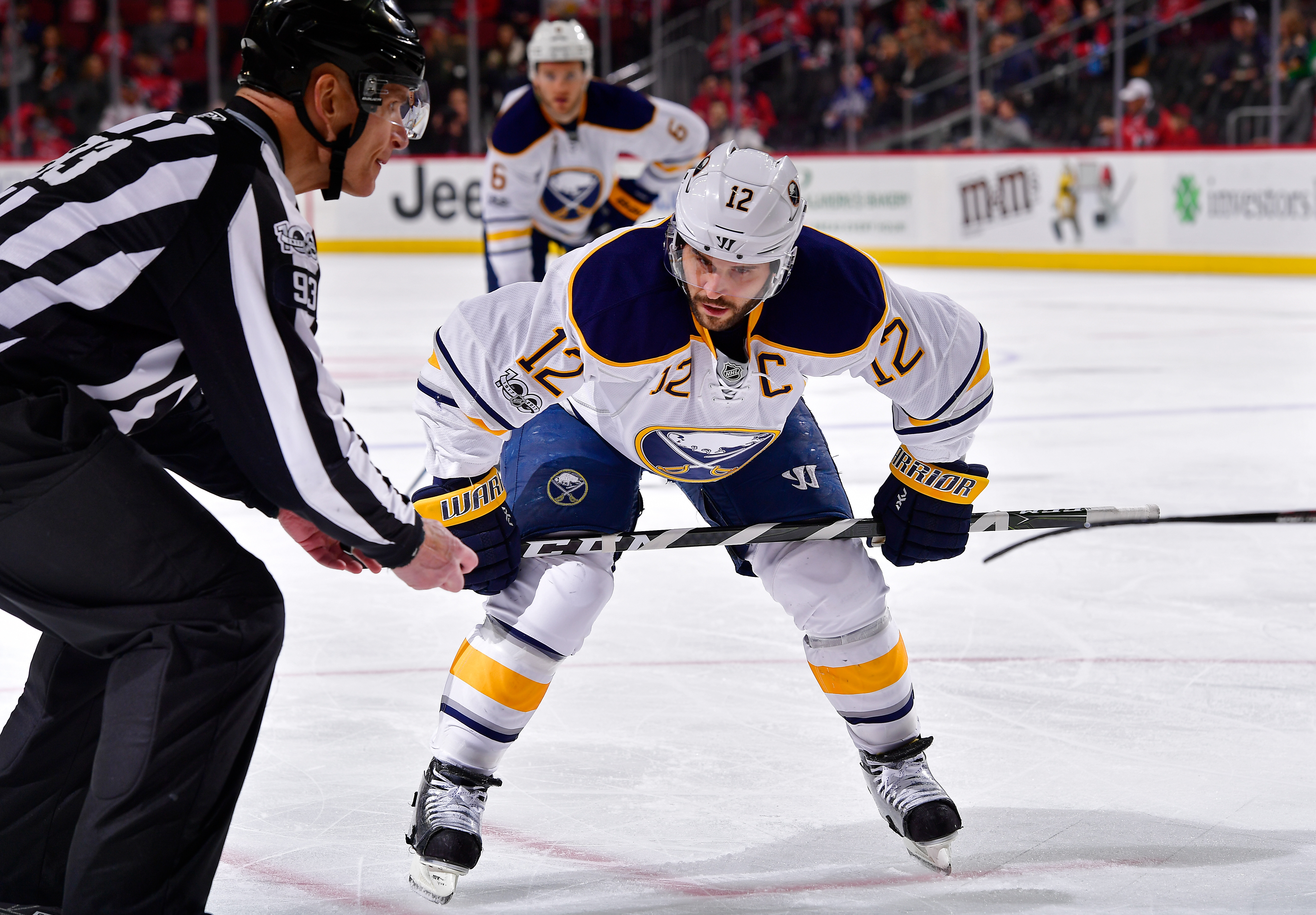 Brian Gionta got his wish and is staying in Buffalo. (Getty Images)