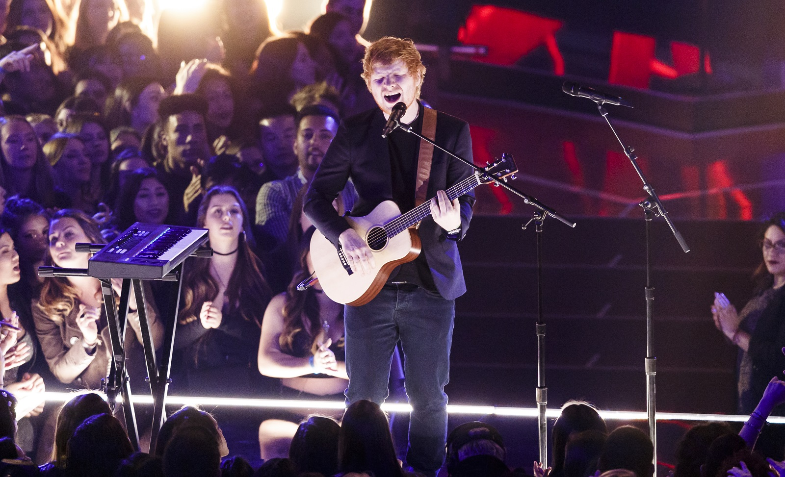 English pop star Ed Sheeran will come to Buffalo in July. (Getty Images)
