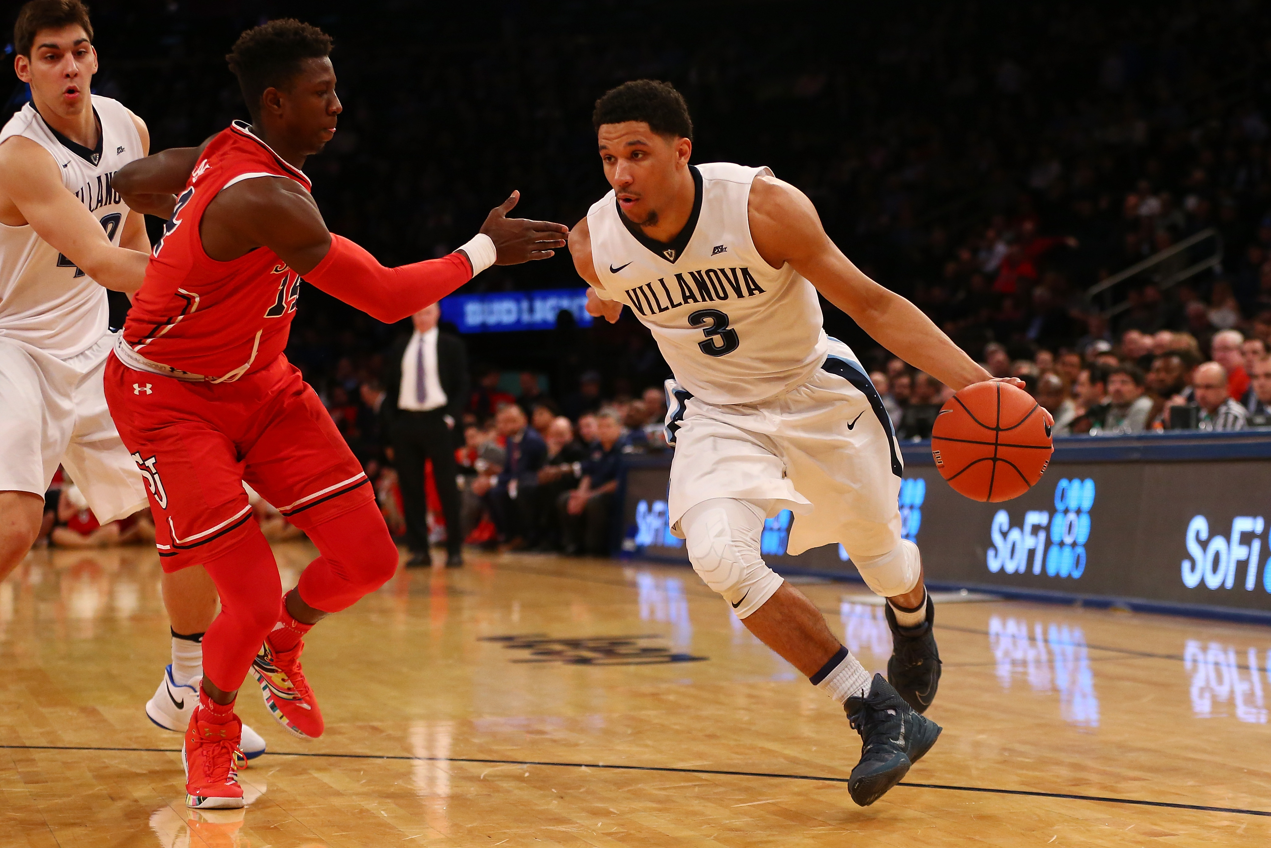 Villanova guard Josh Hart at the Big East Tournament. (Mike Stobe/Getty Images)