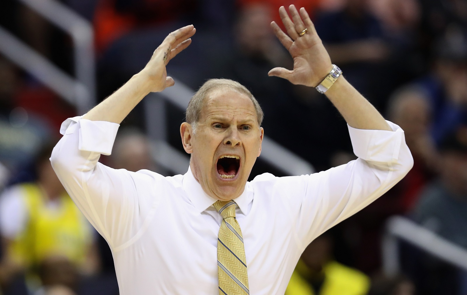 Michigan coach John Beilein (Getty Images)