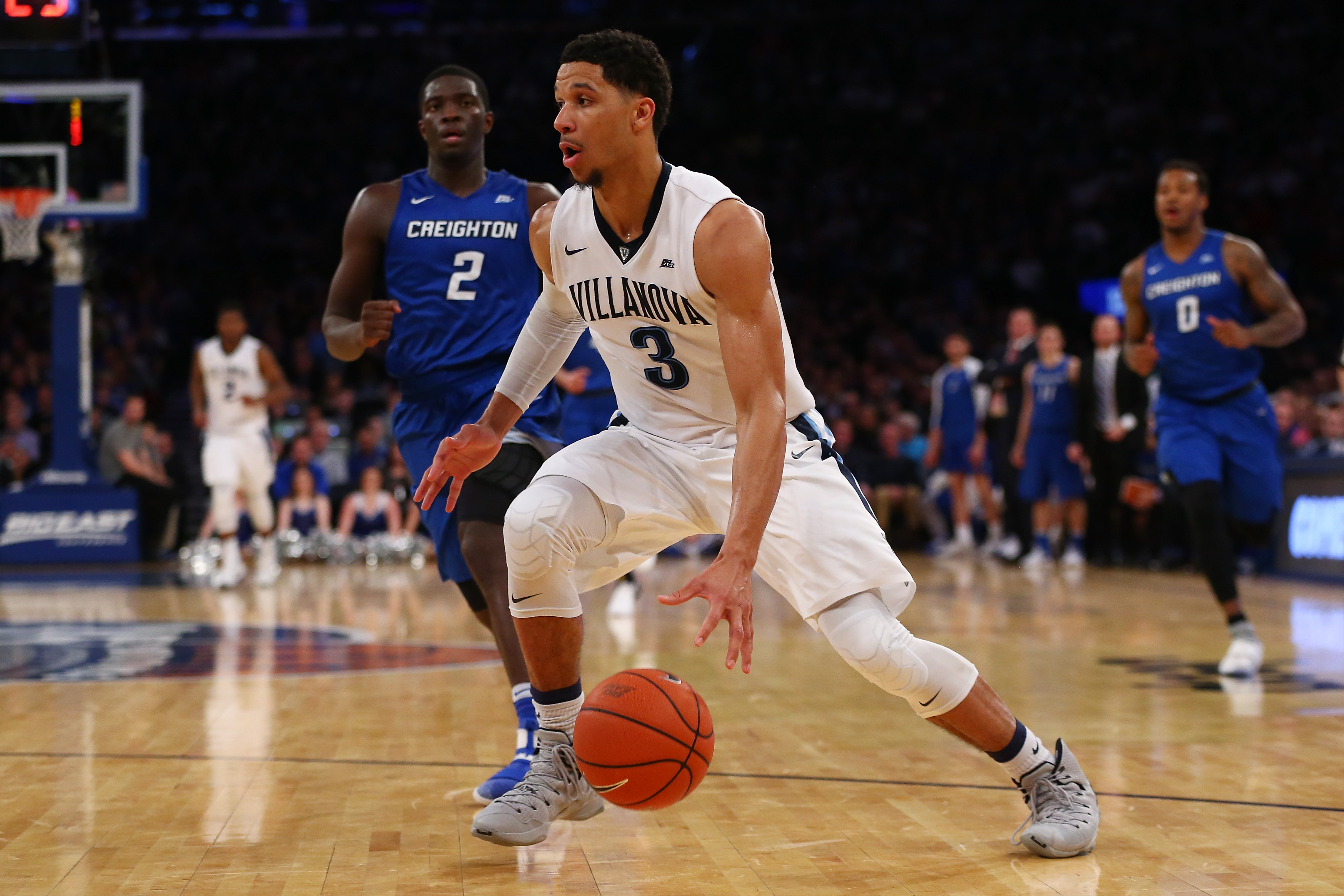 Villanova's Josh Hart, the Big East player of the year, is a finalist for the Wooden Award presented to the nation's top player.  (Getty Images)