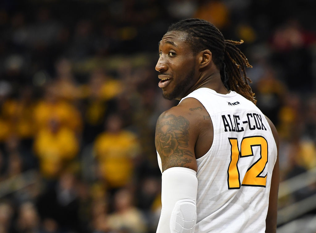 Mo Alie-Cox of the Virginia Commonwealth Rams in action against the Richmond Spiders during the semifinals of the Atlantic 10 Basketball Tournament at PPG PAINTS Arena in Pittsburgh. (Getty Images)