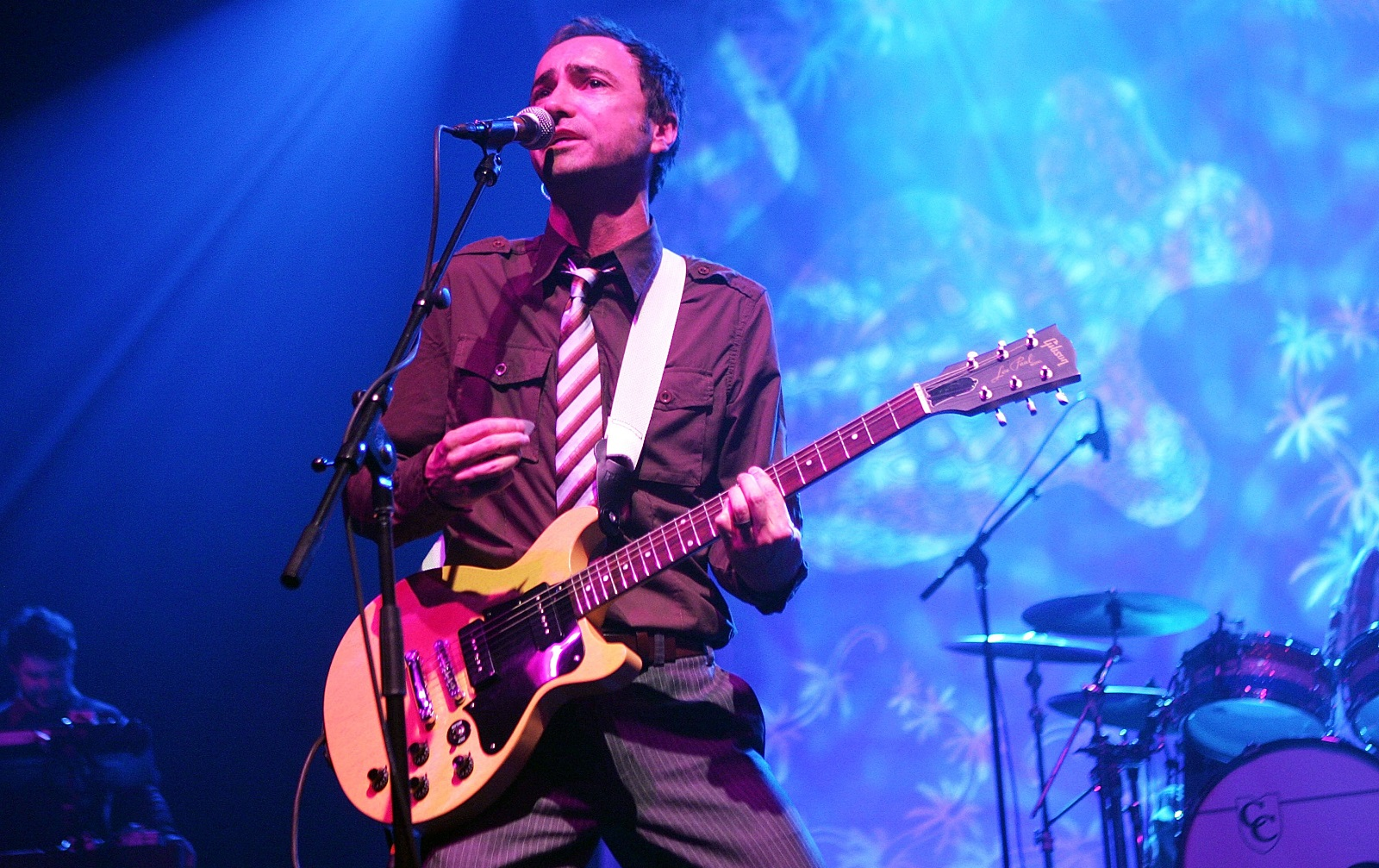 James Mercer, pictured performing in Madison Square Garden in 2007, leads the Shins again after the band's five-year hiatus. (Getty Images)