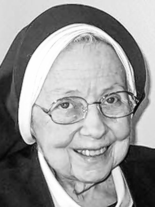 SISTER MARY CHRISTINA DINEEN rsm,