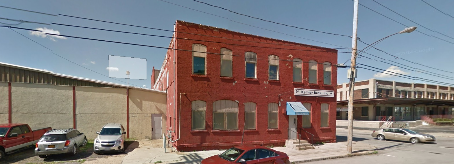 Last fall, the Paladinos bought this building at 222 Chicago St.