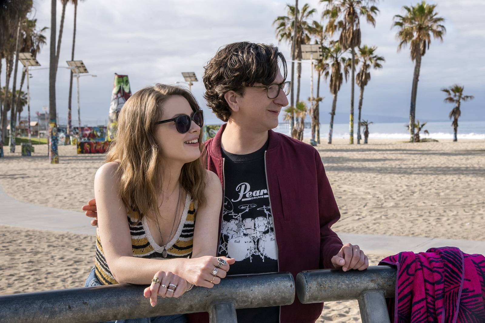 """Gillian Jacobs and Paul Rust in the Netflix series """"Love."""" (Suzanne Hanover/Netflix)"""