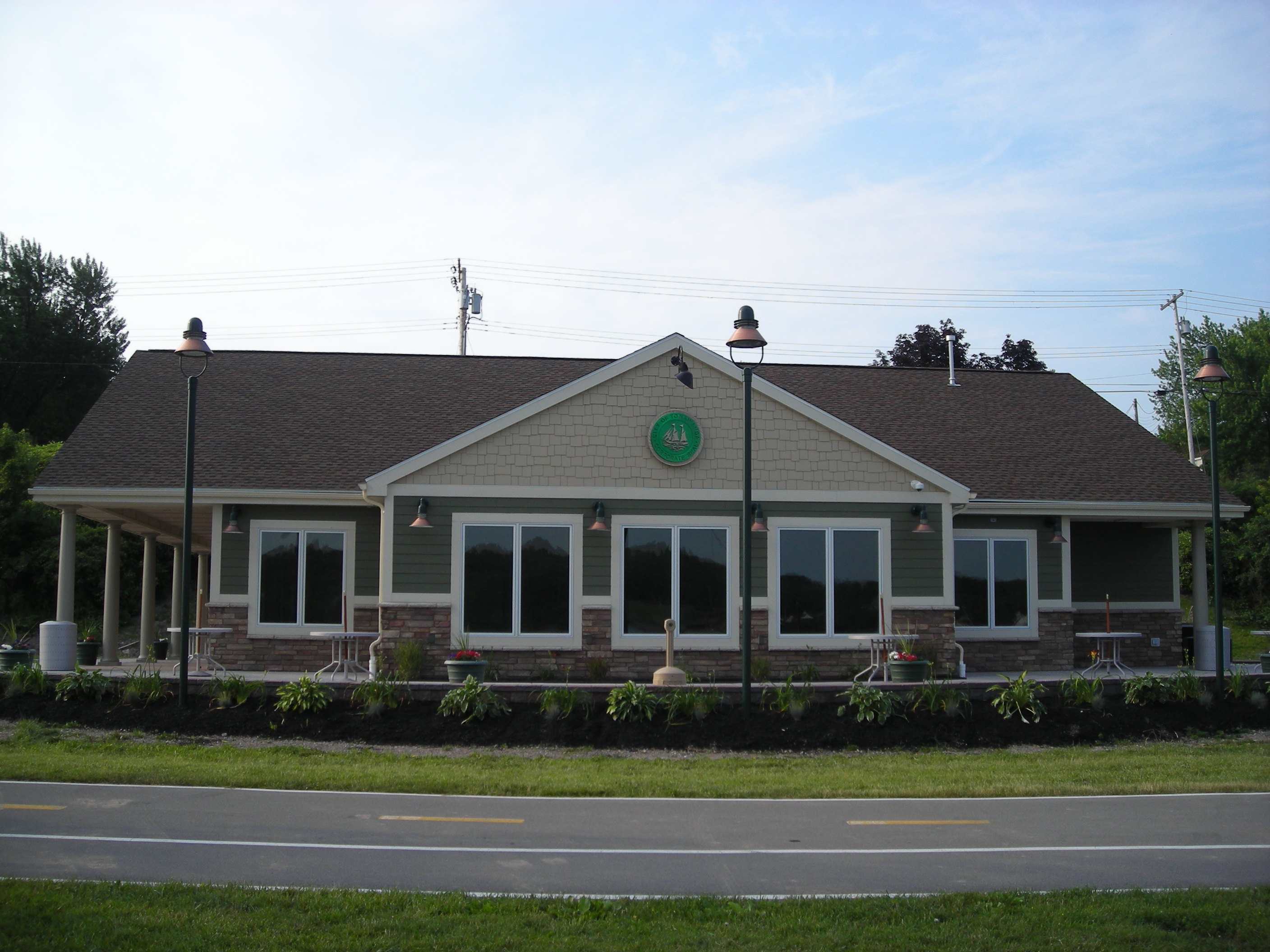 The Niawanda Park Pavilion in Tonawanda. (News file photo)